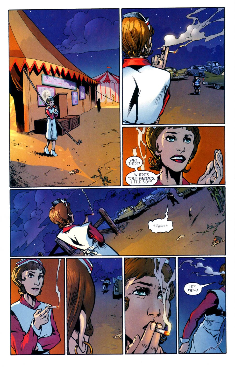 Read online Route 666 comic -  Issue #9 - 21