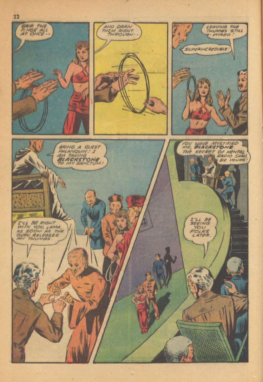 Read online Super-Magician Comics comic -  Issue #13 - 22