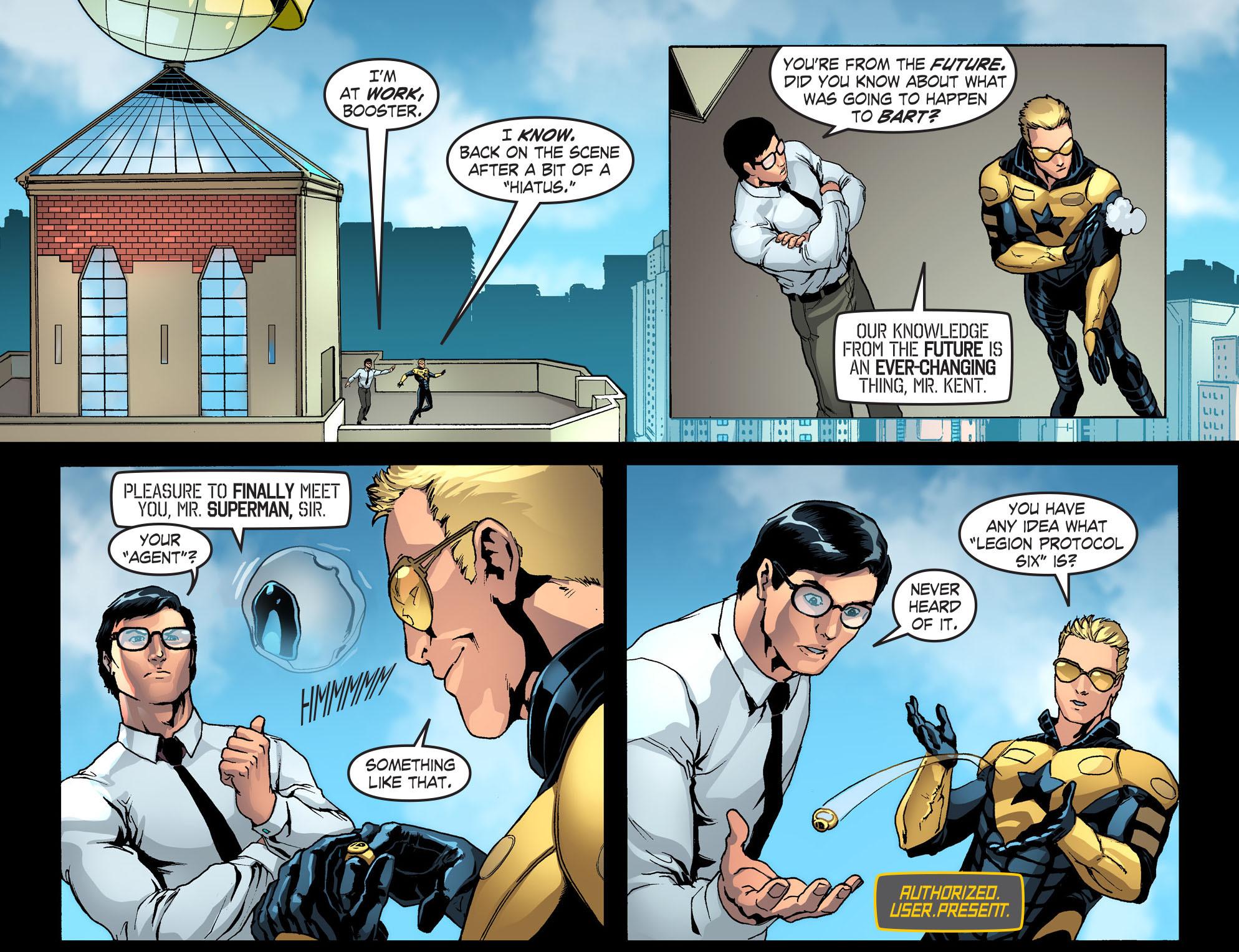 Read online Smallville: Season 11 comic -  Issue #42 - 19