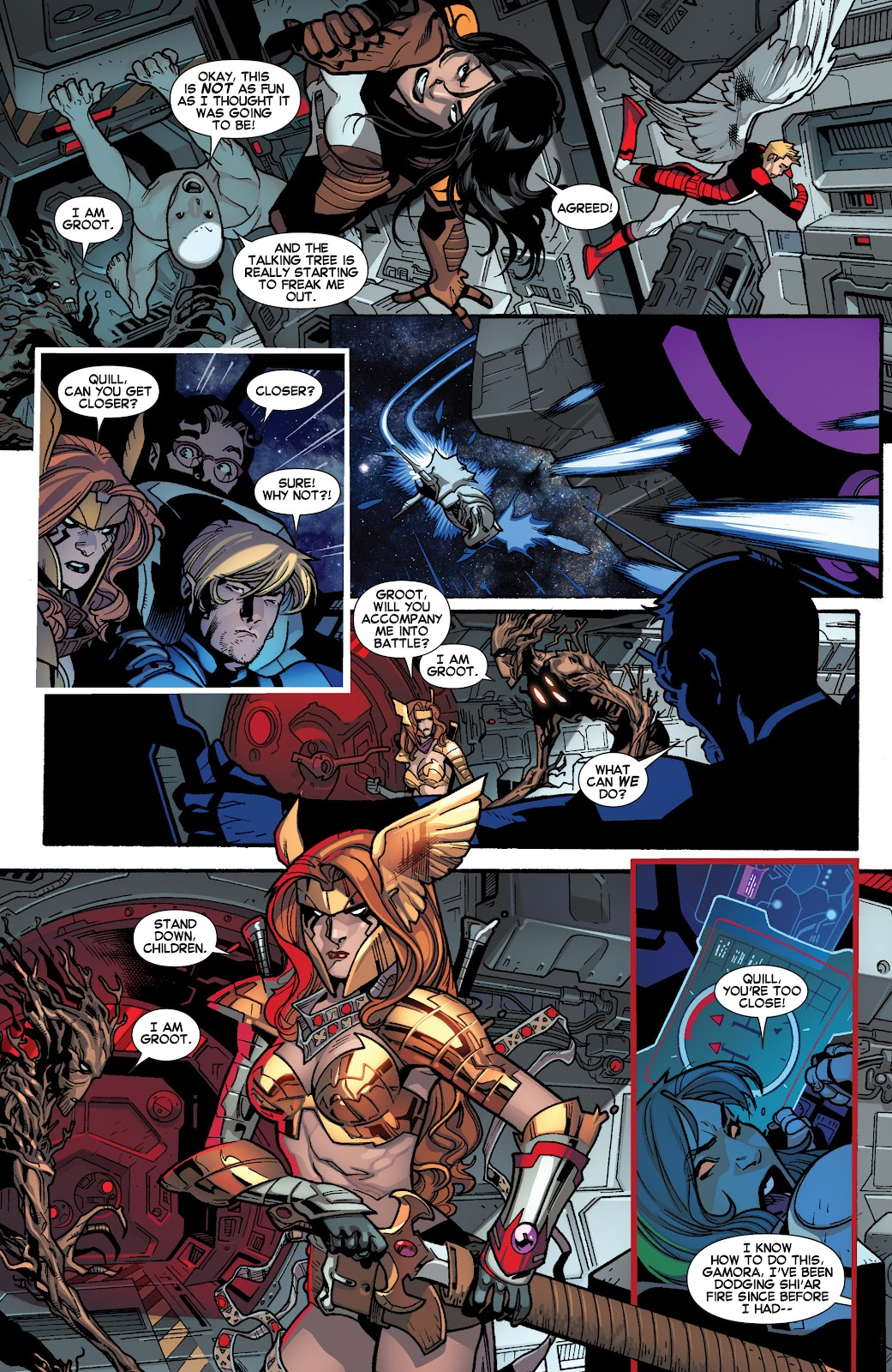 Guardians of the Galaxy/All-New X-Men: The Trial of Jean Grey issue TPB - Page 52