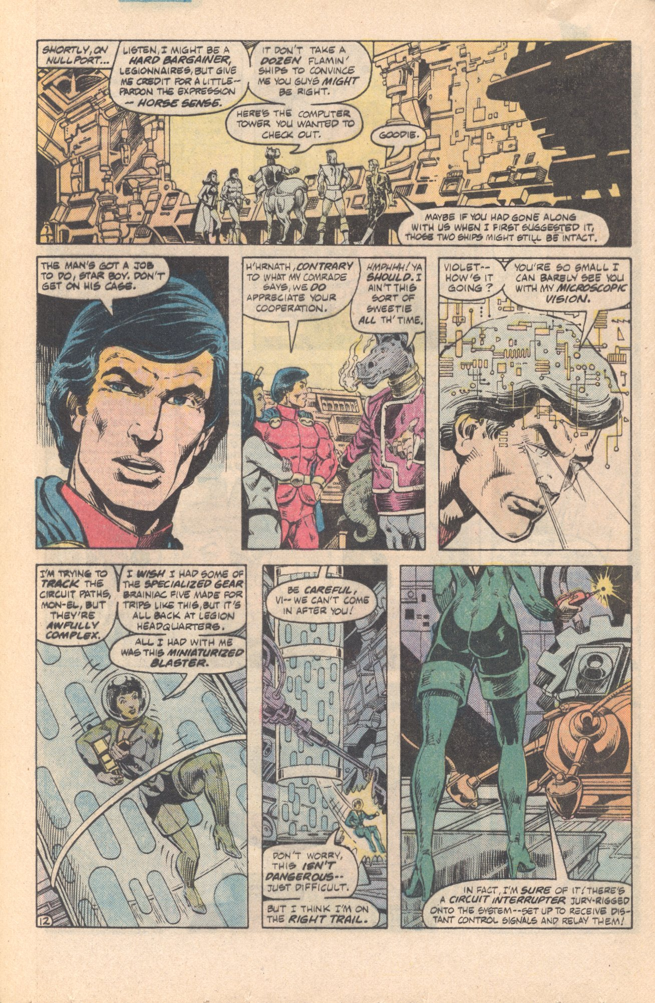 Legion of Super-Heroes (1980) 285 Page 12