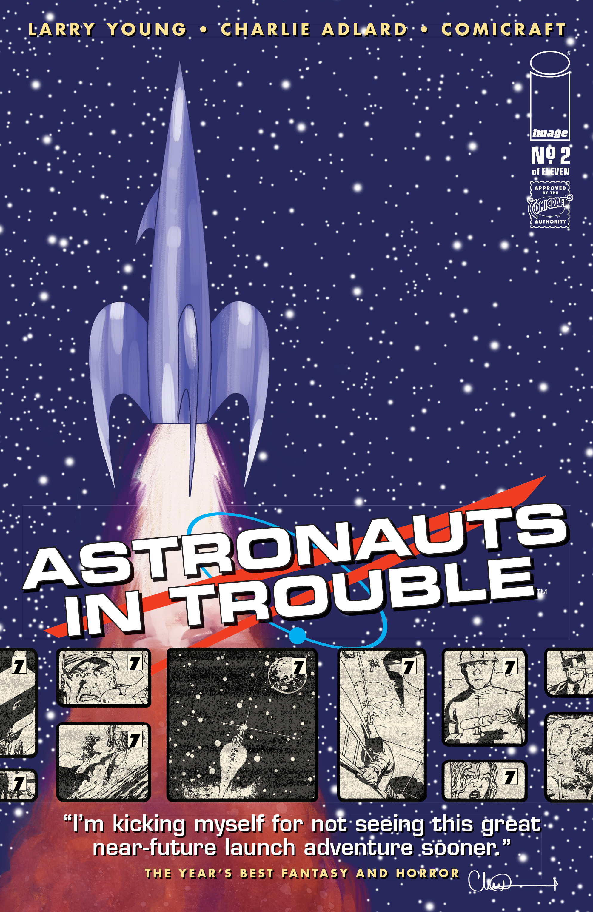Read online Astronauts in Trouble (2015) comic -  Issue #2 - 1