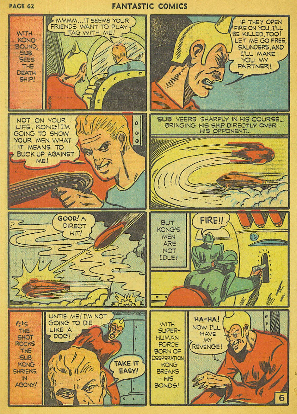 Read online Fantastic Comics comic -  Issue #15 - 58
