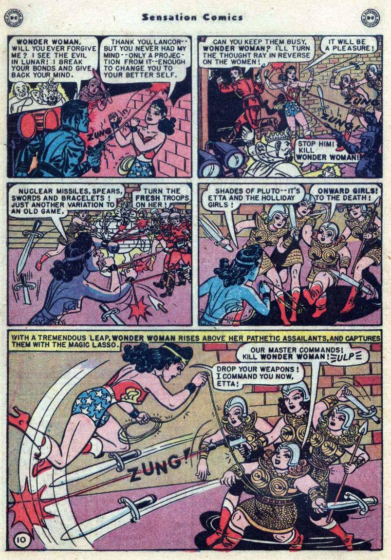 Read online Sensation (Mystery) Comics comic -  Issue #82 - 12