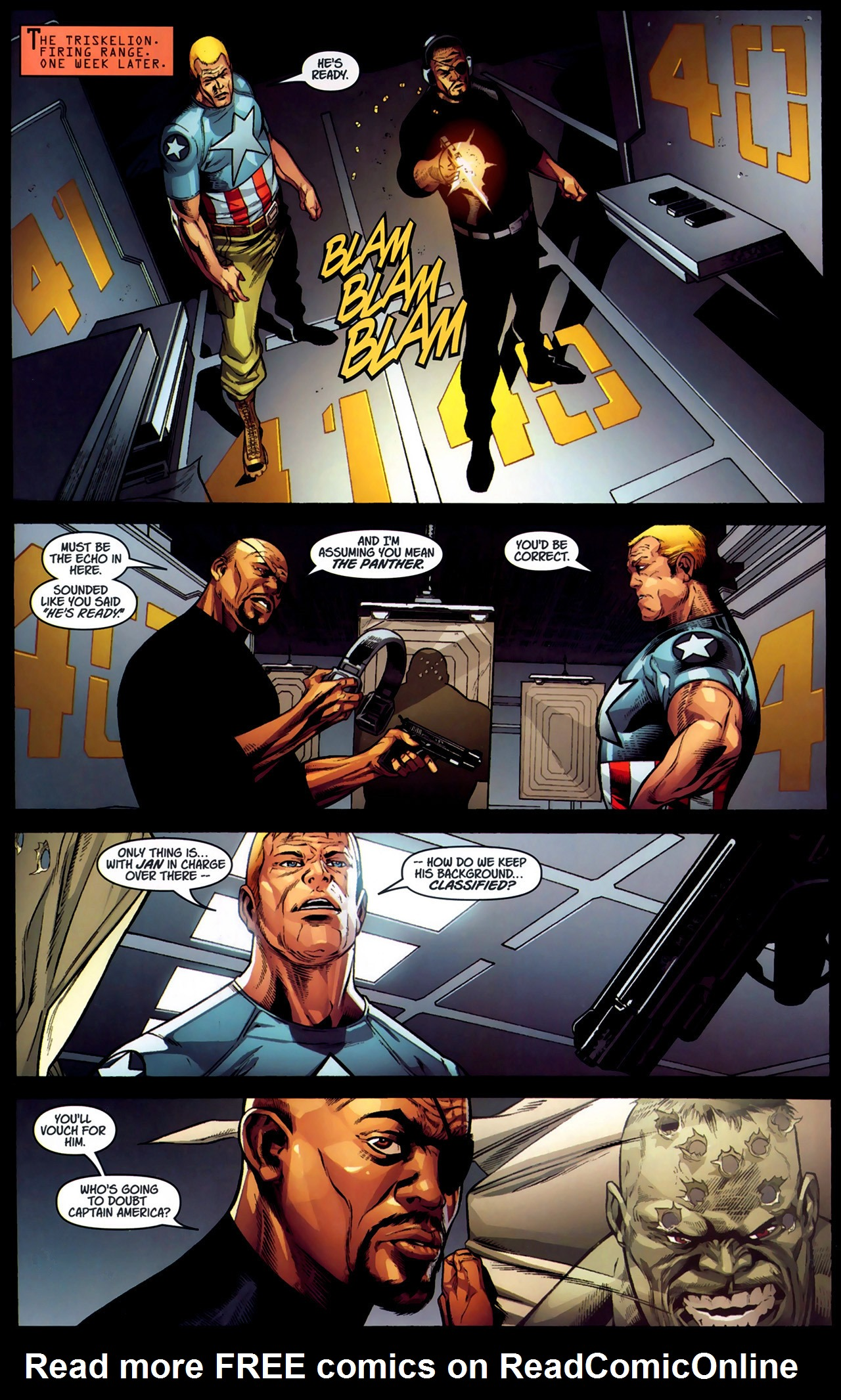 Read online Ultimate Captain America (2008) comic -  Issue # Full - 27