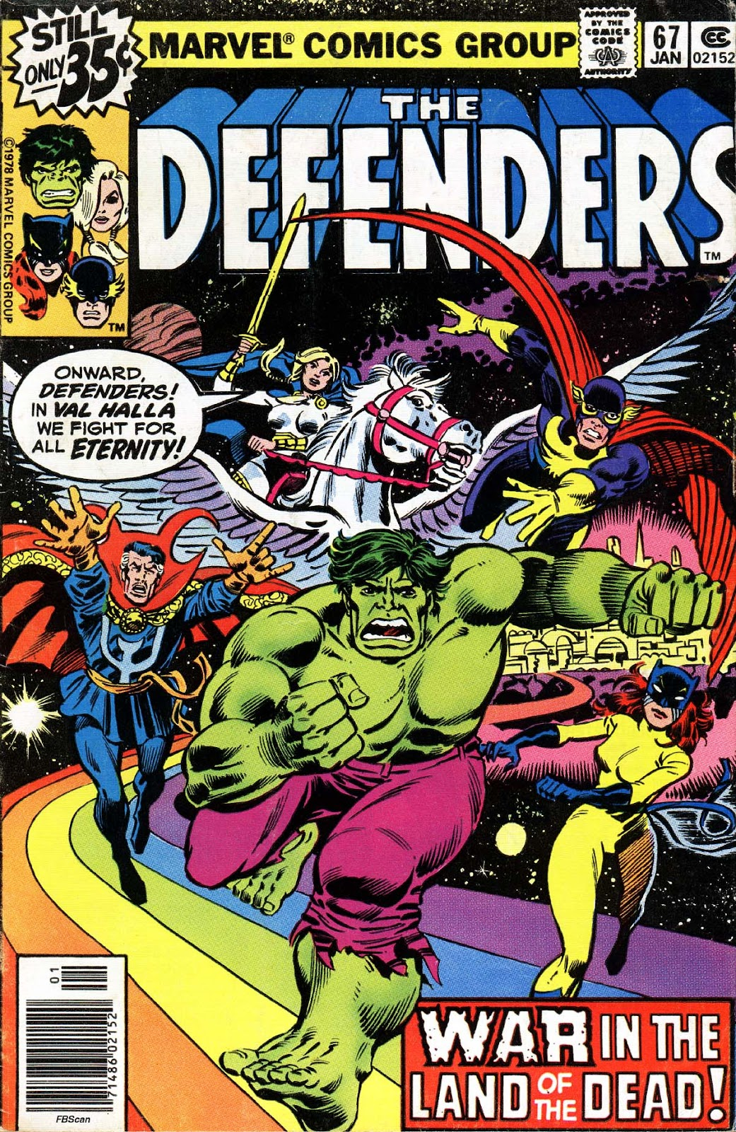 The Defenders (1972) 67 Page 1