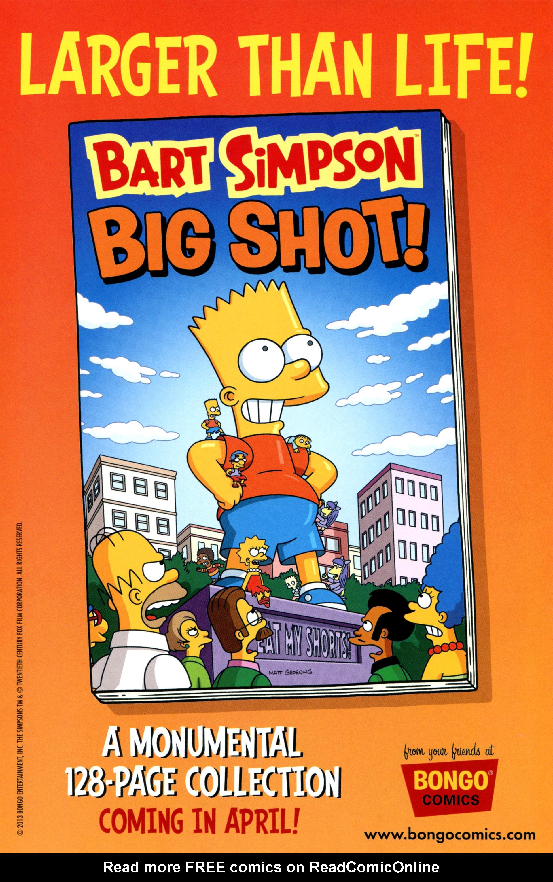Read online Simpsons Comics comic -  Issue #200 - 31