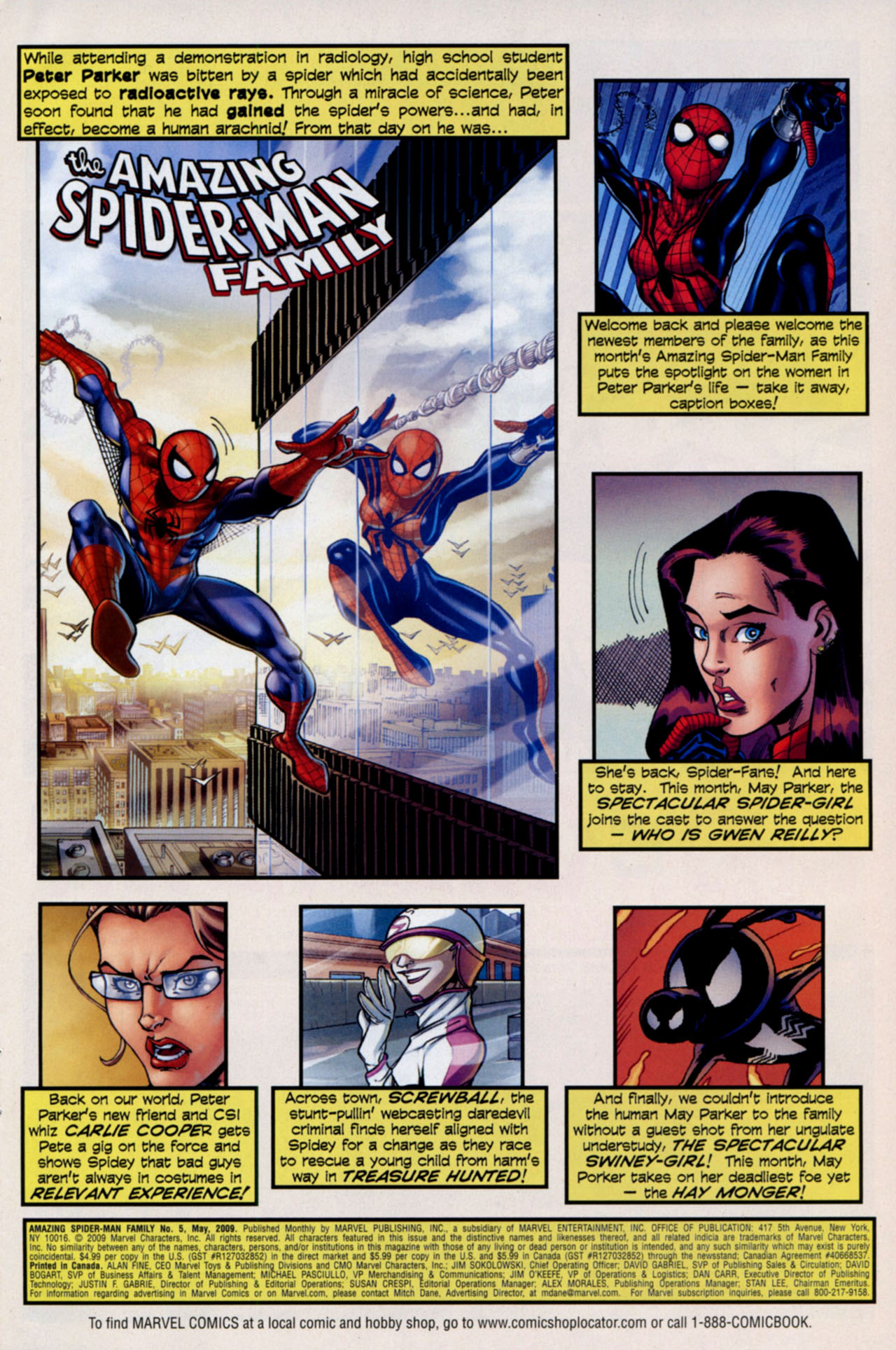 Read online Amazing Spider-Man Family comic -  Issue #5 - 2