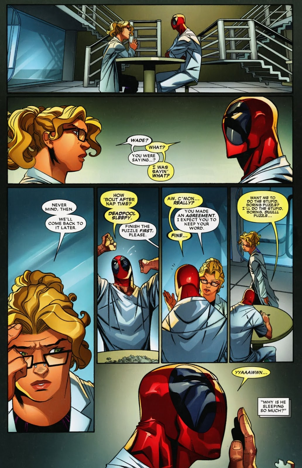 Read online Deadpool (2008) comic -  Issue #41 - 11