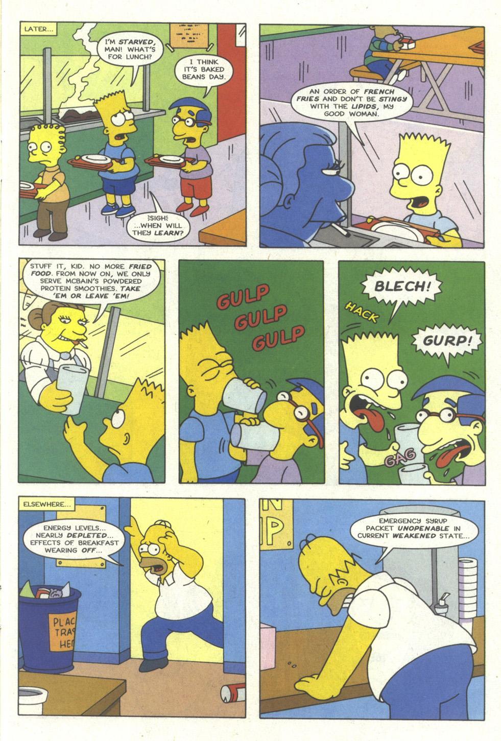 Read online Simpsons Comics comic -  Issue #18 - 6