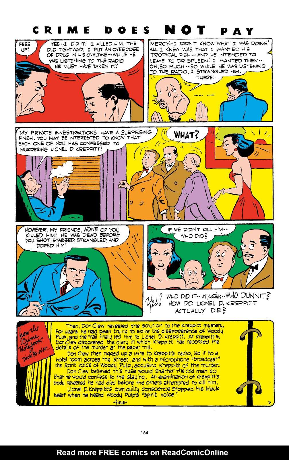 Read online Crime Does Not Pay Archives comic -  Issue # TPB 4 (Part 2) - 64