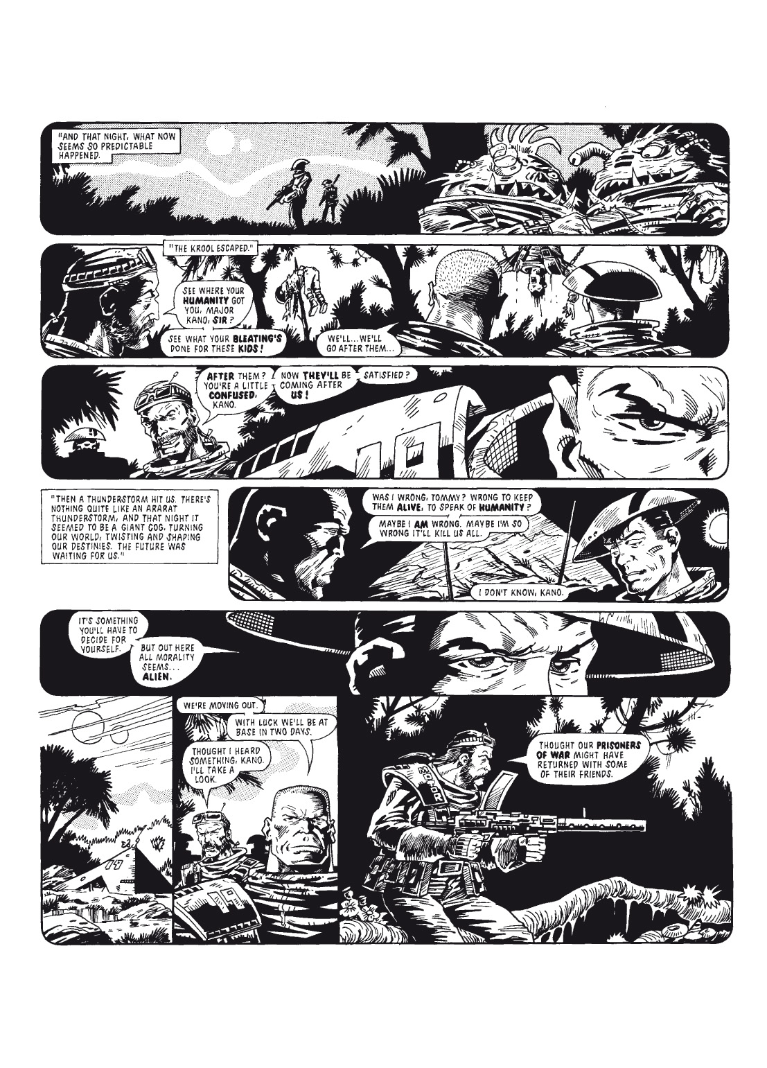 Read online The Complete Bad Company comic -  Issue # TPB - 112