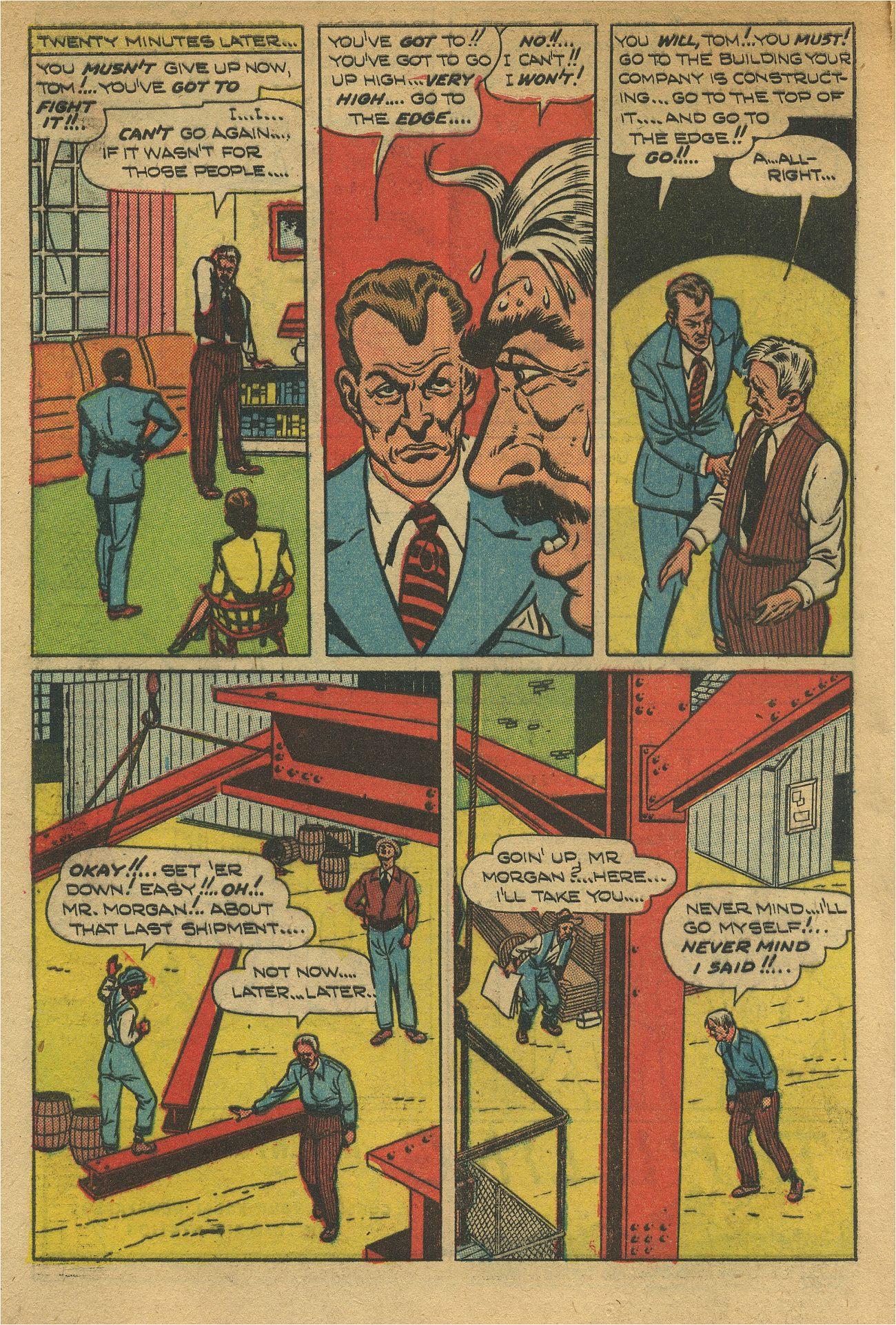 Read online Shadow Comics comic -  Issue #93 - 7
