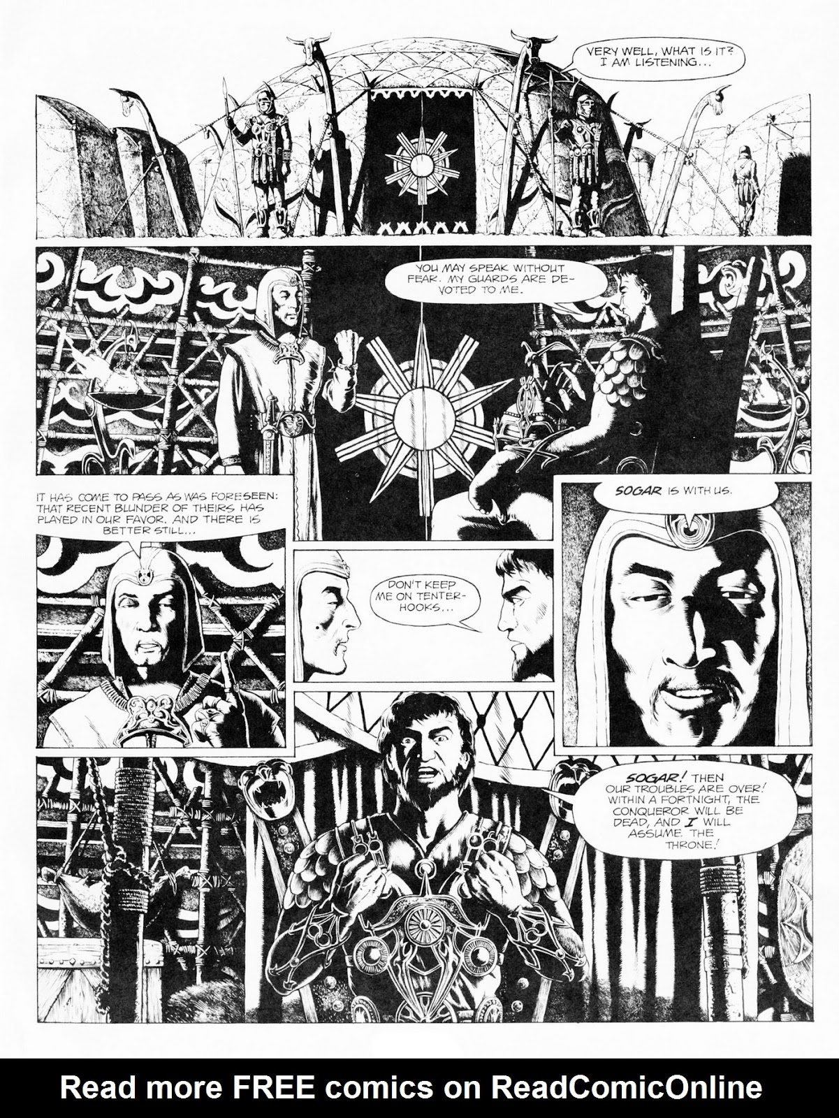 Conquering Armies issue TPB - Page 35