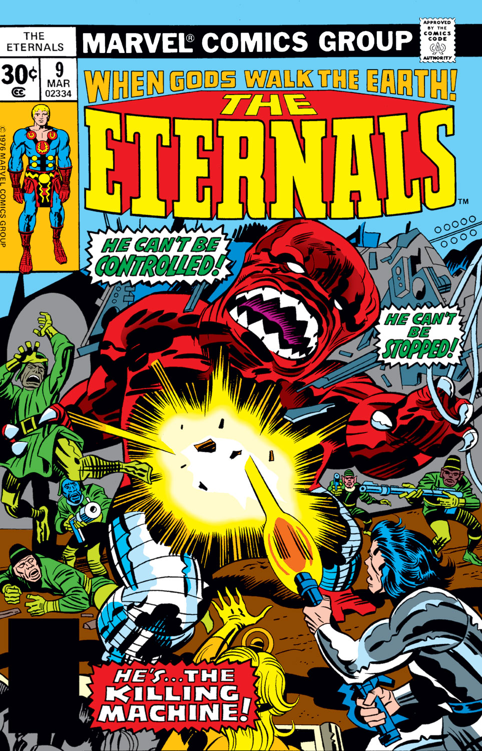 The Eternals issue 9 - Page 1
