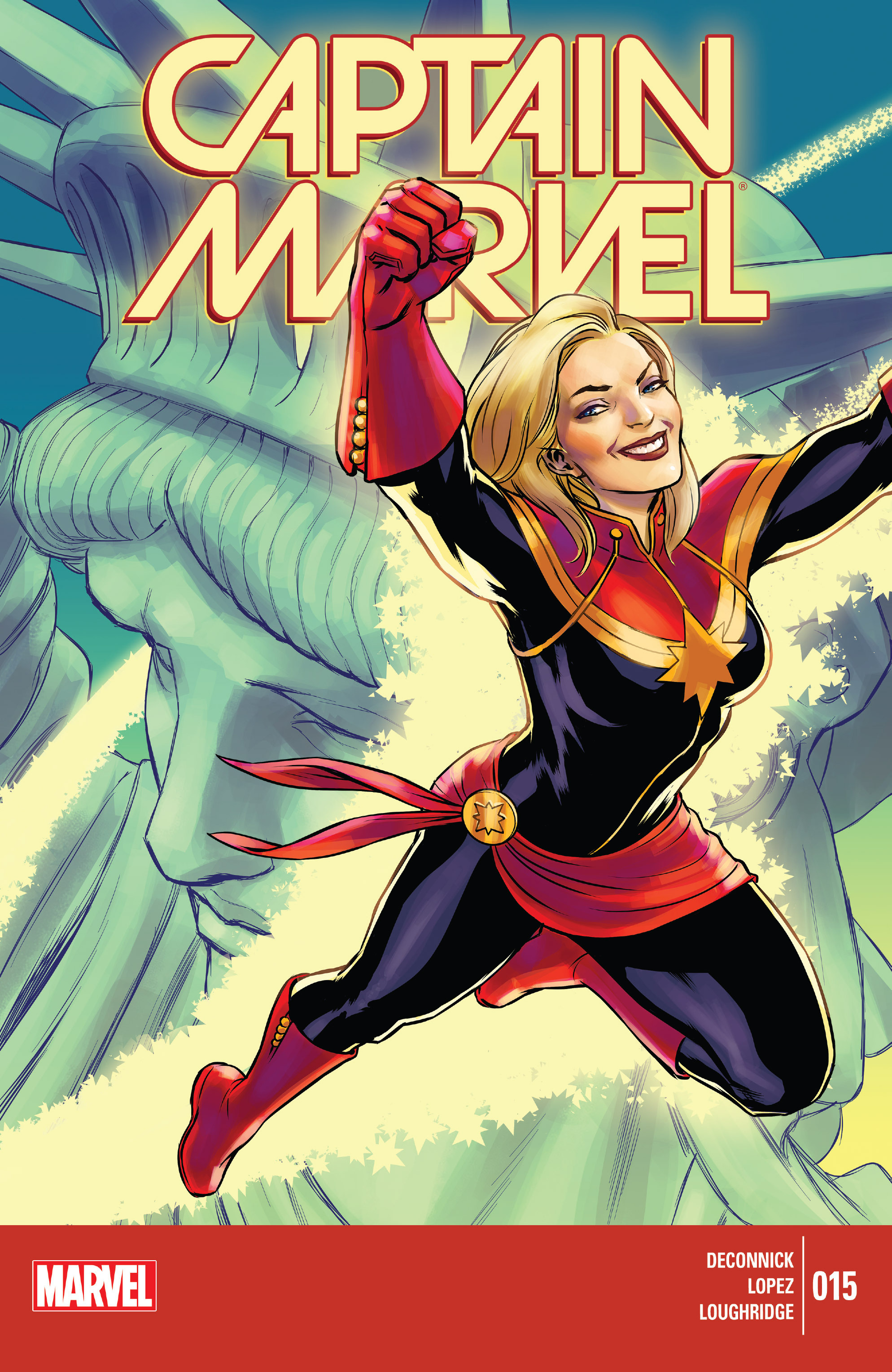 Captain Marvel (2014) 15 Page 1