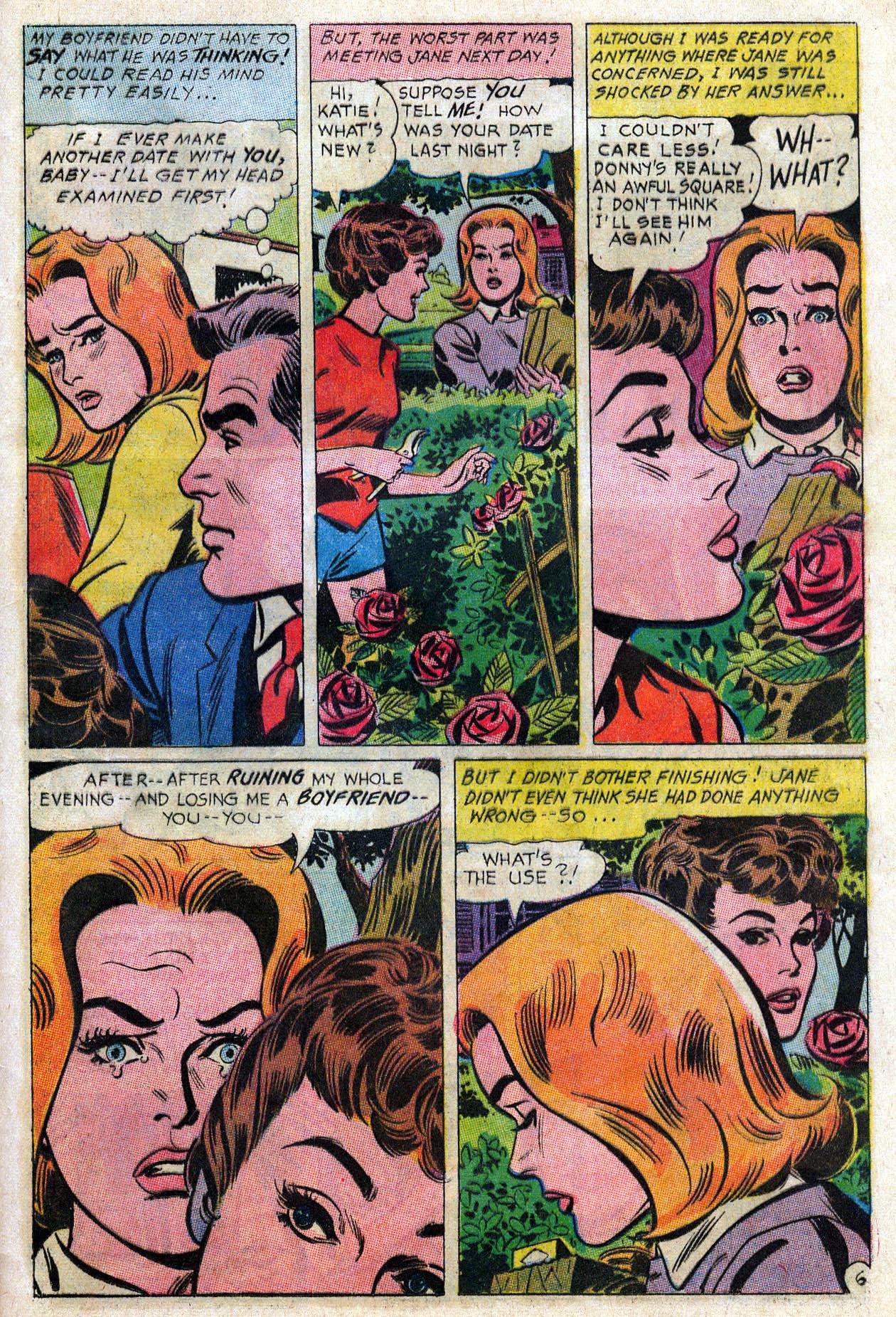 Read online Secret Hearts comic -  Issue #109 - 28