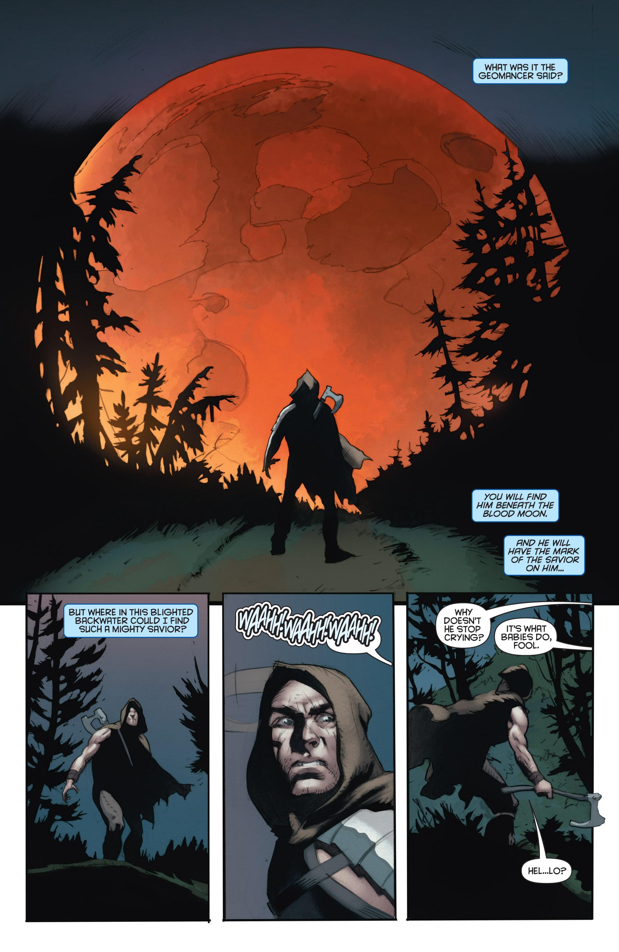 Read online Eternal Warrior: Days of Steel comic -  Issue #1 - 18