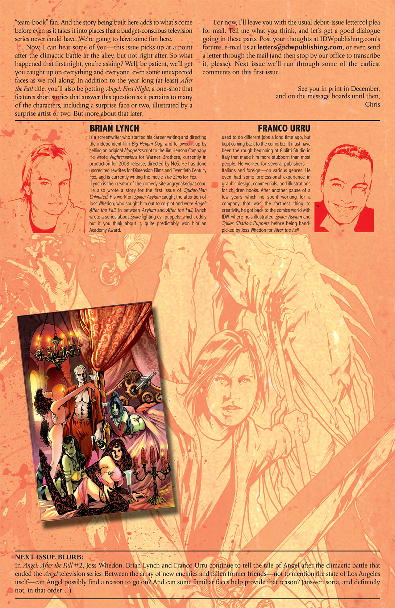 Read online Angel: After The Fall comic -  Issue #1 - 32