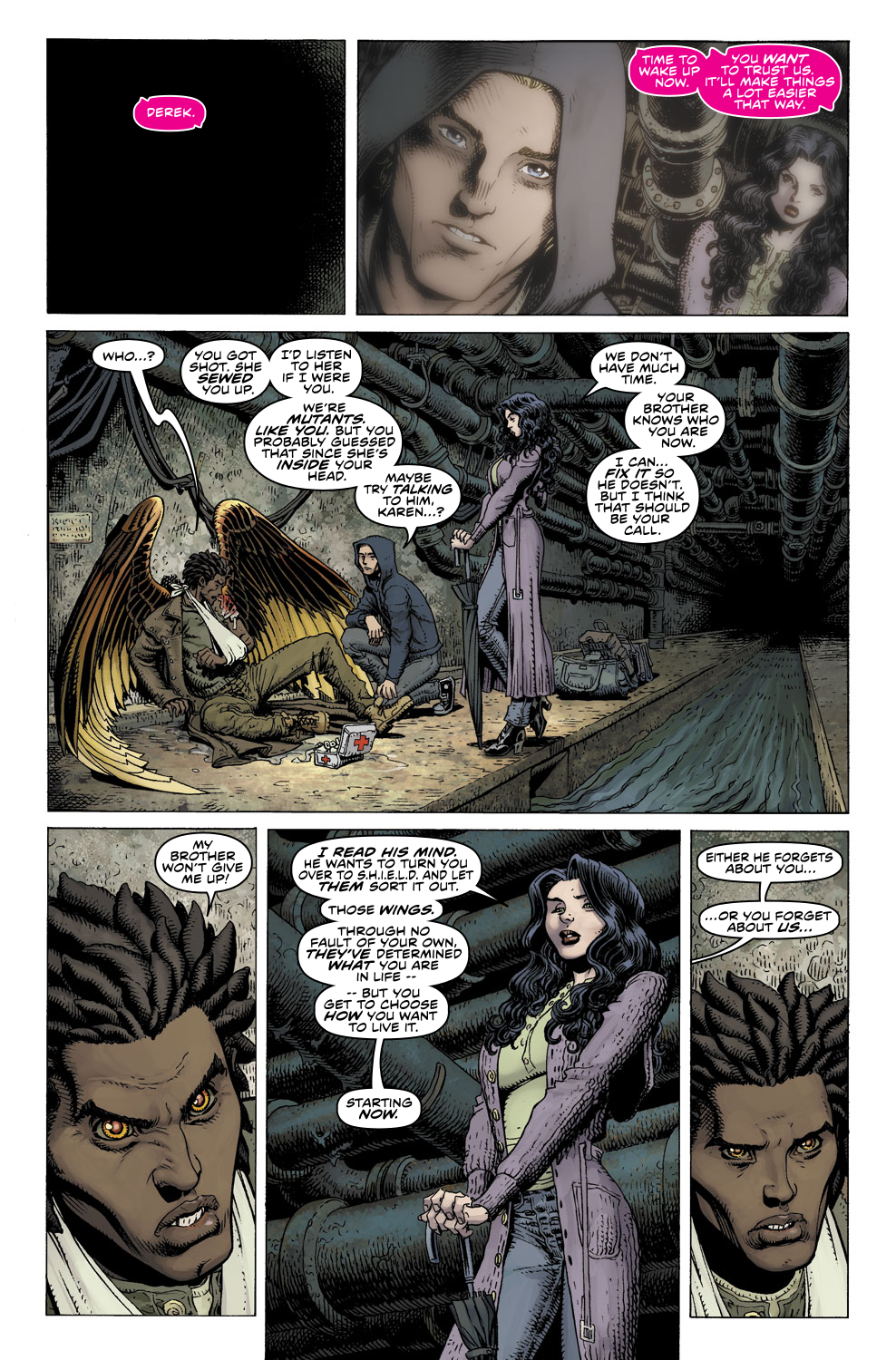 Read online Ultimate X comic -  Issue #3 - 24