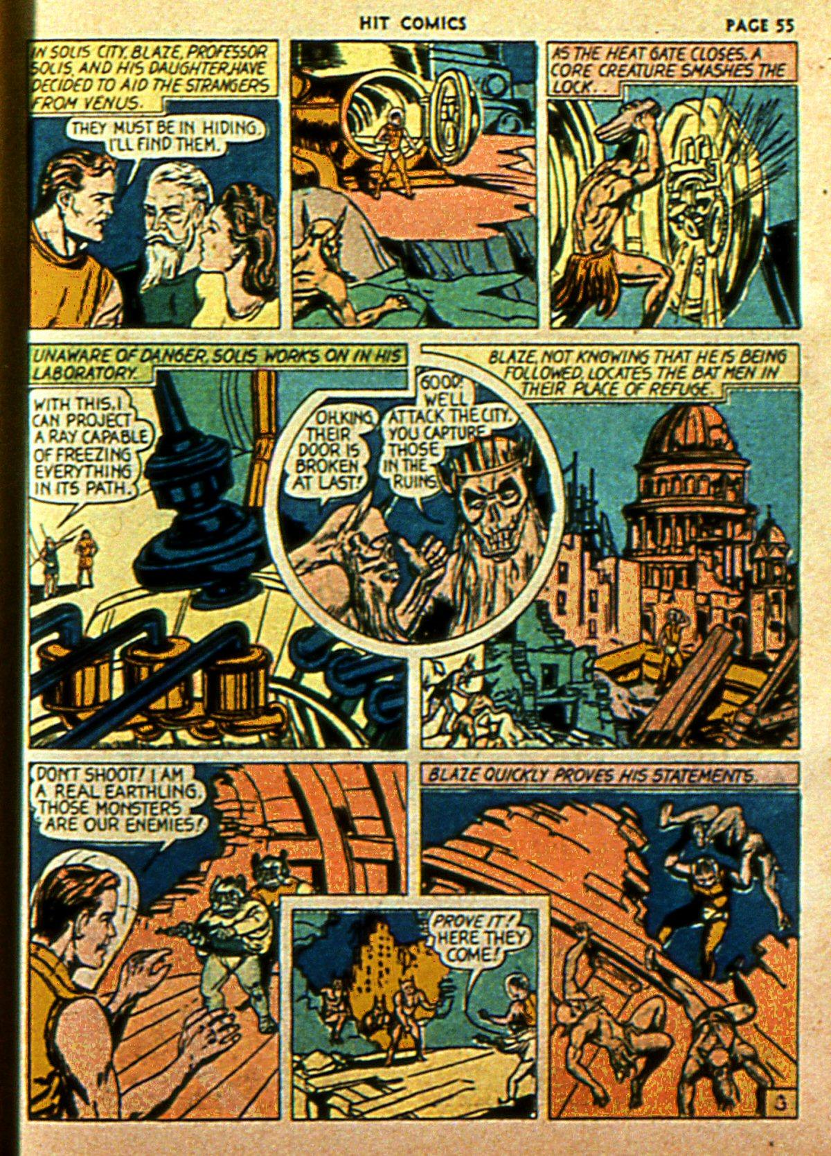 Read online Hit Comics comic -  Issue #2 - 57