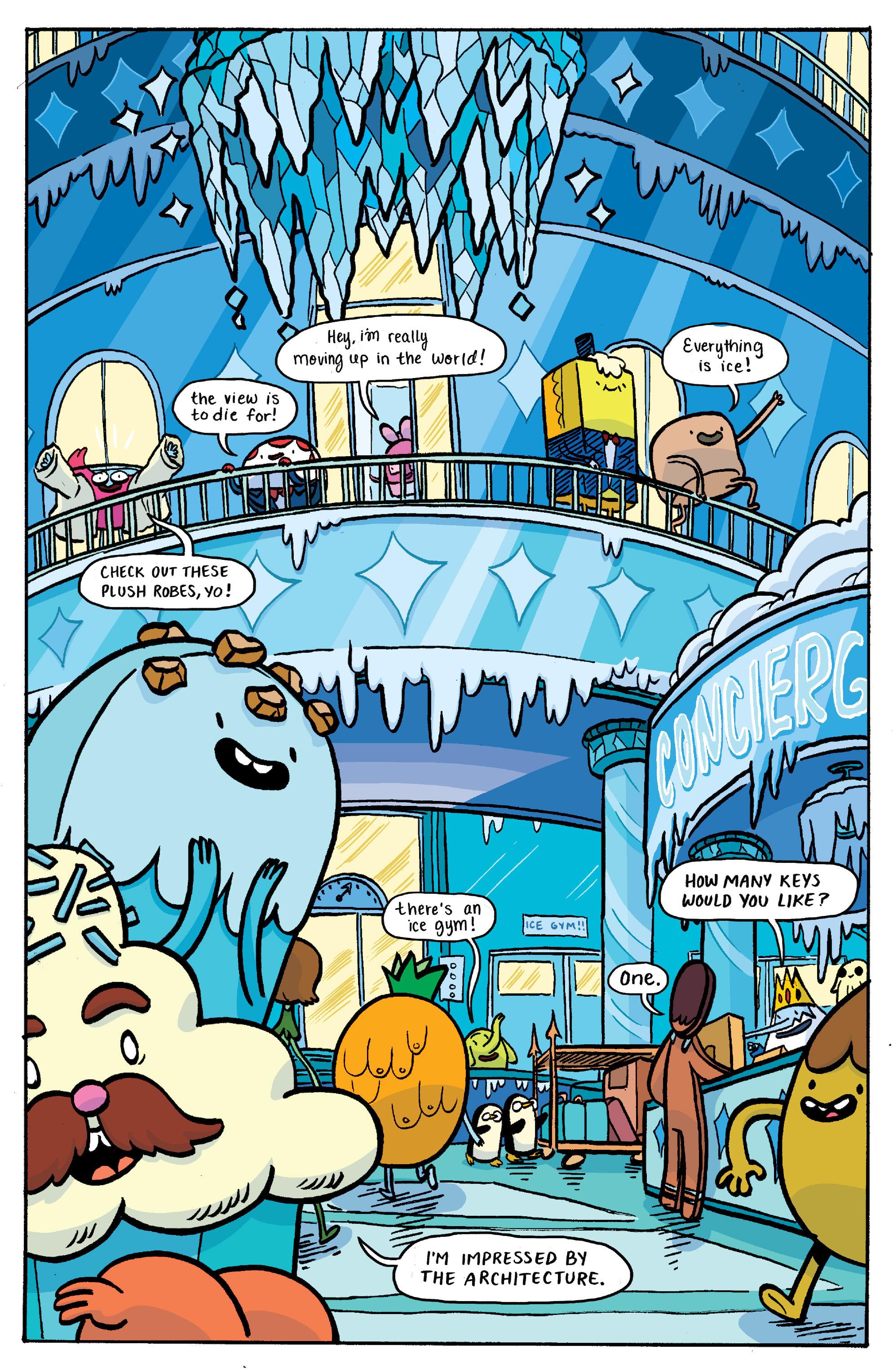 Read online Adventure Time: Banana Guard Academ comic -  Issue #3 - 11