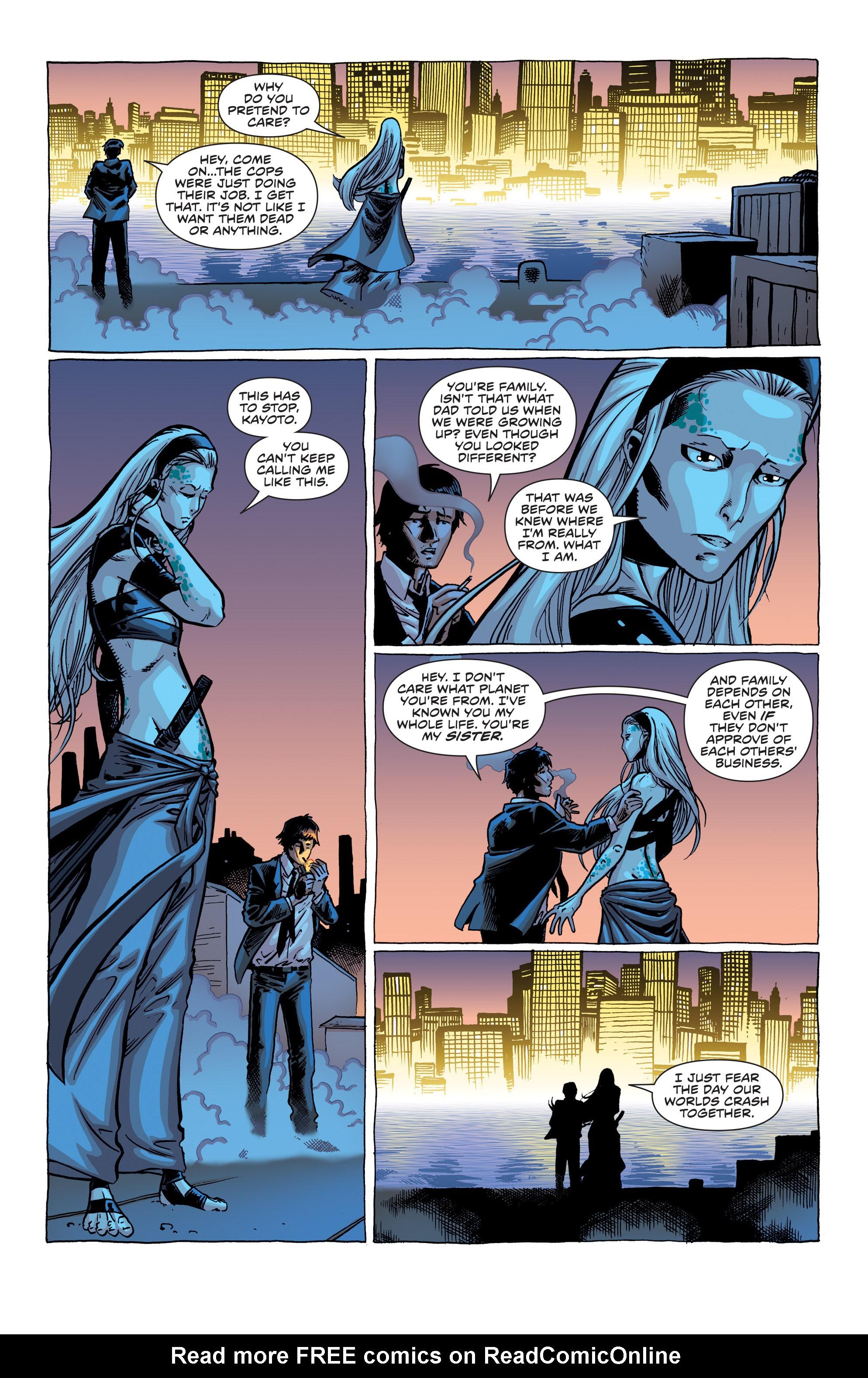 Read online Secret Identities comic -  Issue #1 - 18