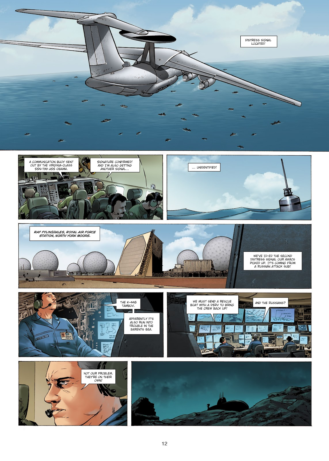 Read online Olympus Mons Vol. 1: Anomaly One comic -  Issue #4 - 12