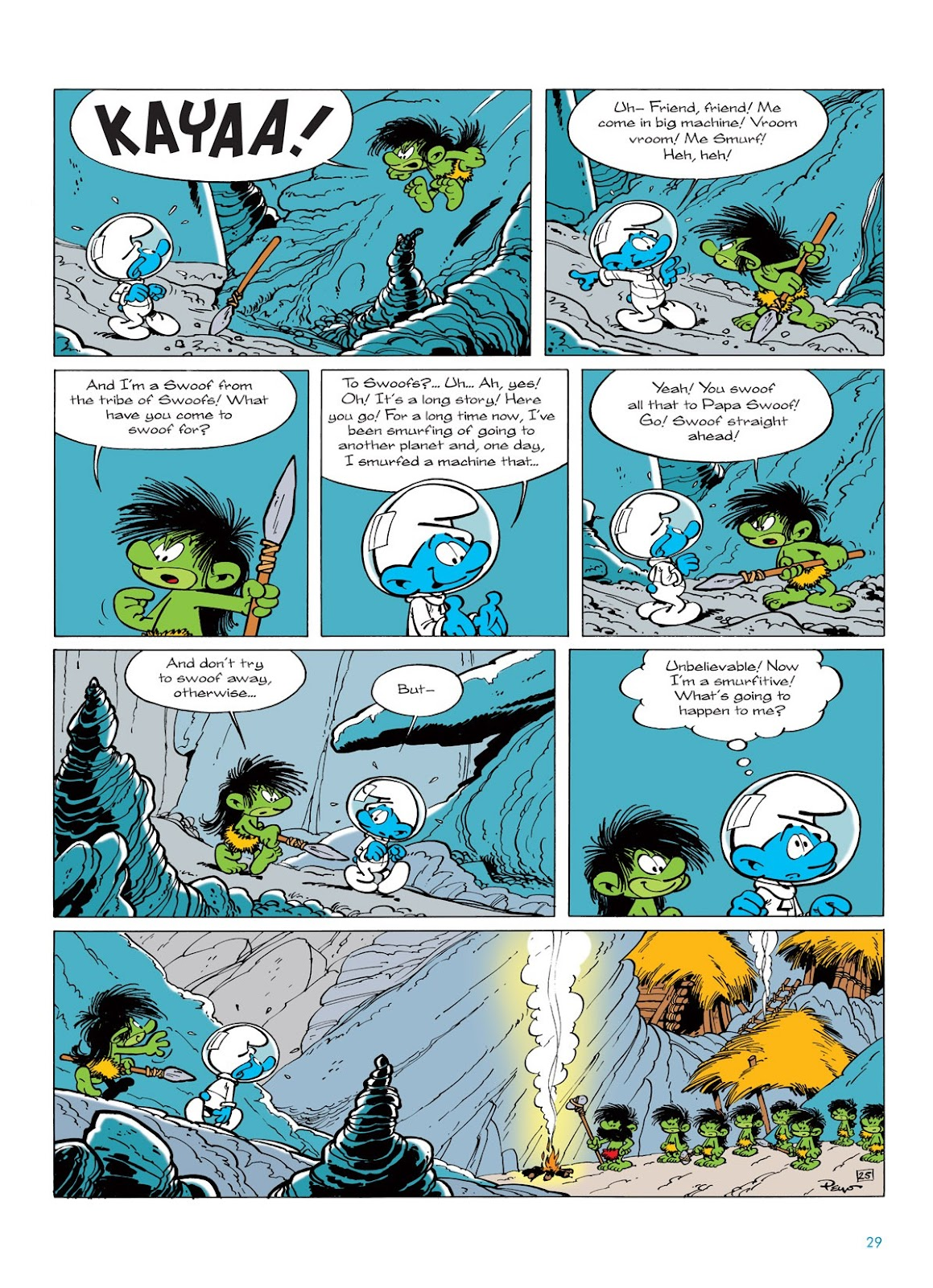 Read online The Smurfs comic -  Issue #7 - 29
