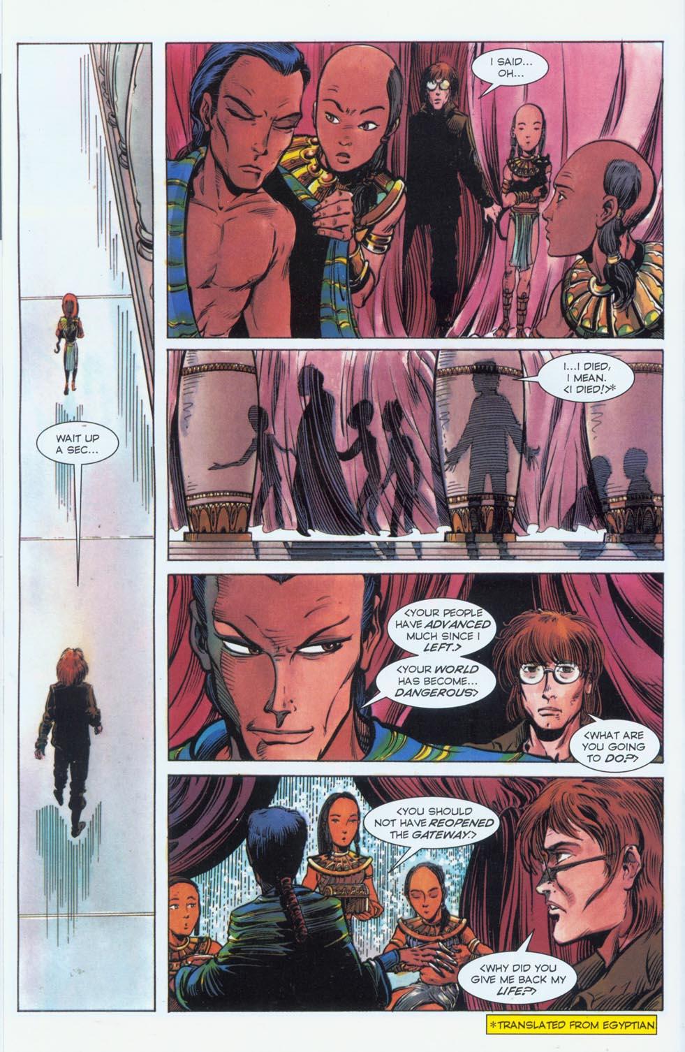 Read online Stargate comic -  Issue #3 - 13