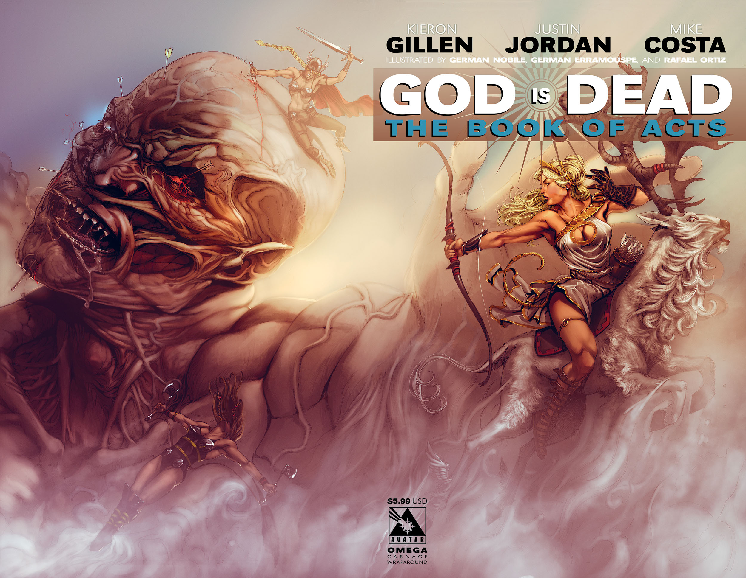 Read online God is Dead: Book of Acts comic -  Issue # Omega - 7