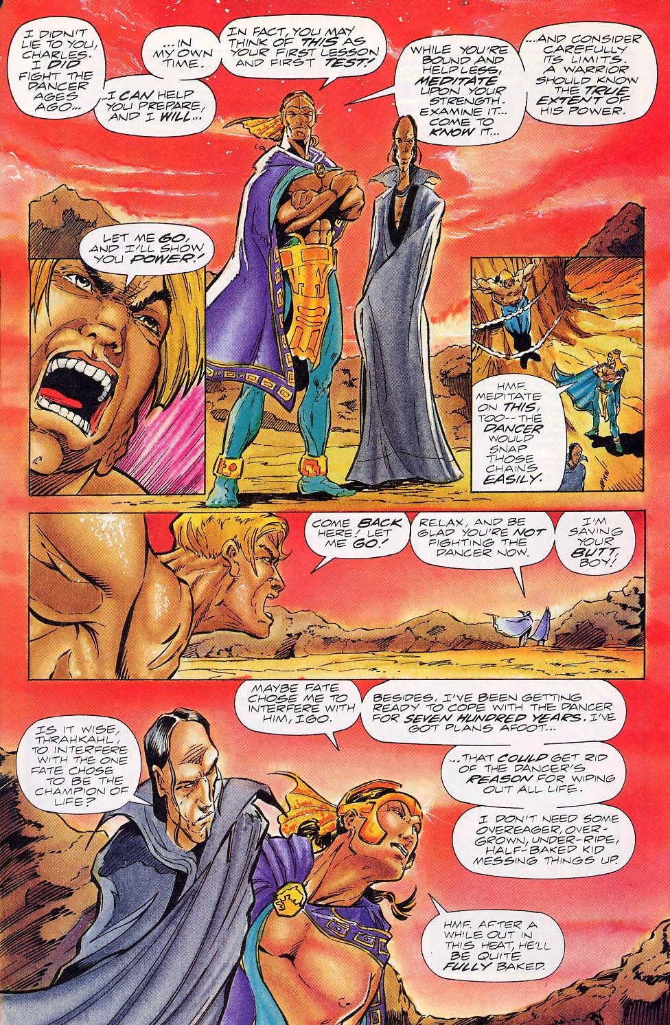 Read online Charlemagne comic -  Issue #5 - 6