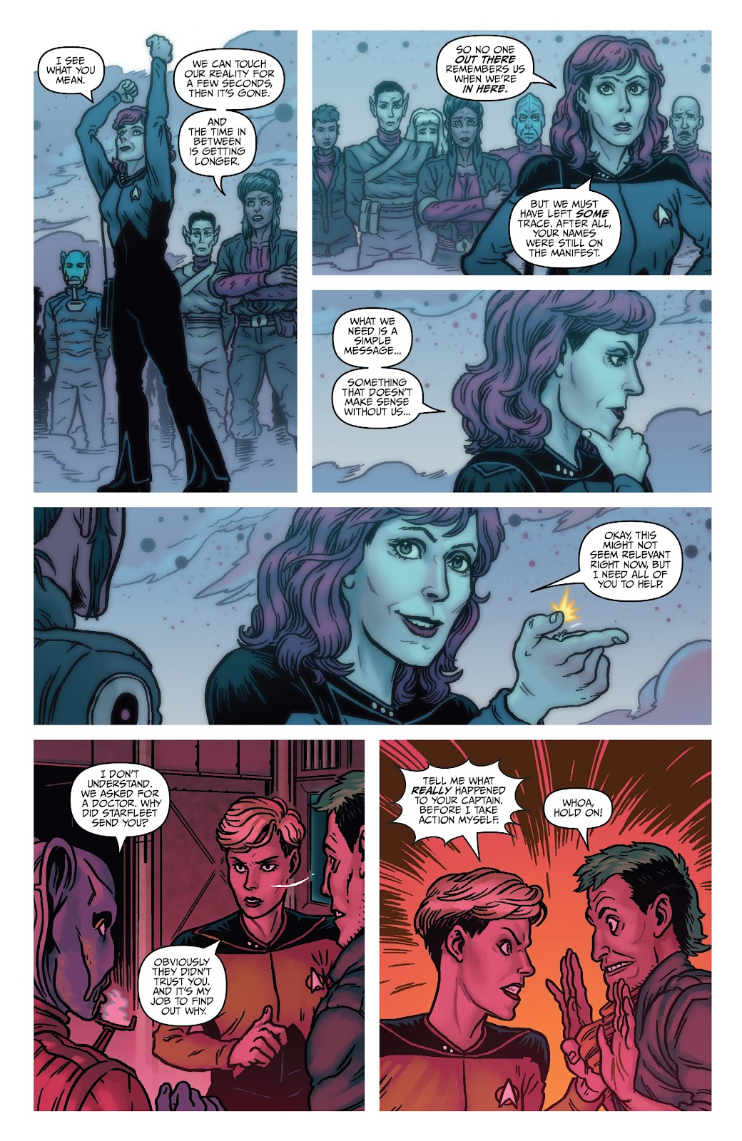 Read online Star Trek: Waypoint Special 2019 comic -  Issue # Full - 19