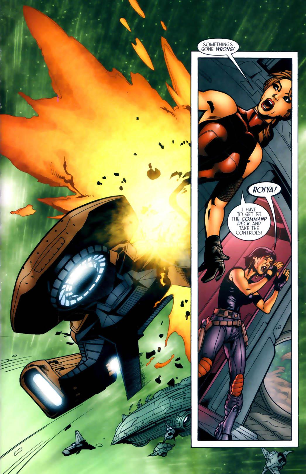 Read online Sigil (2000) comic -  Issue #30 - 18