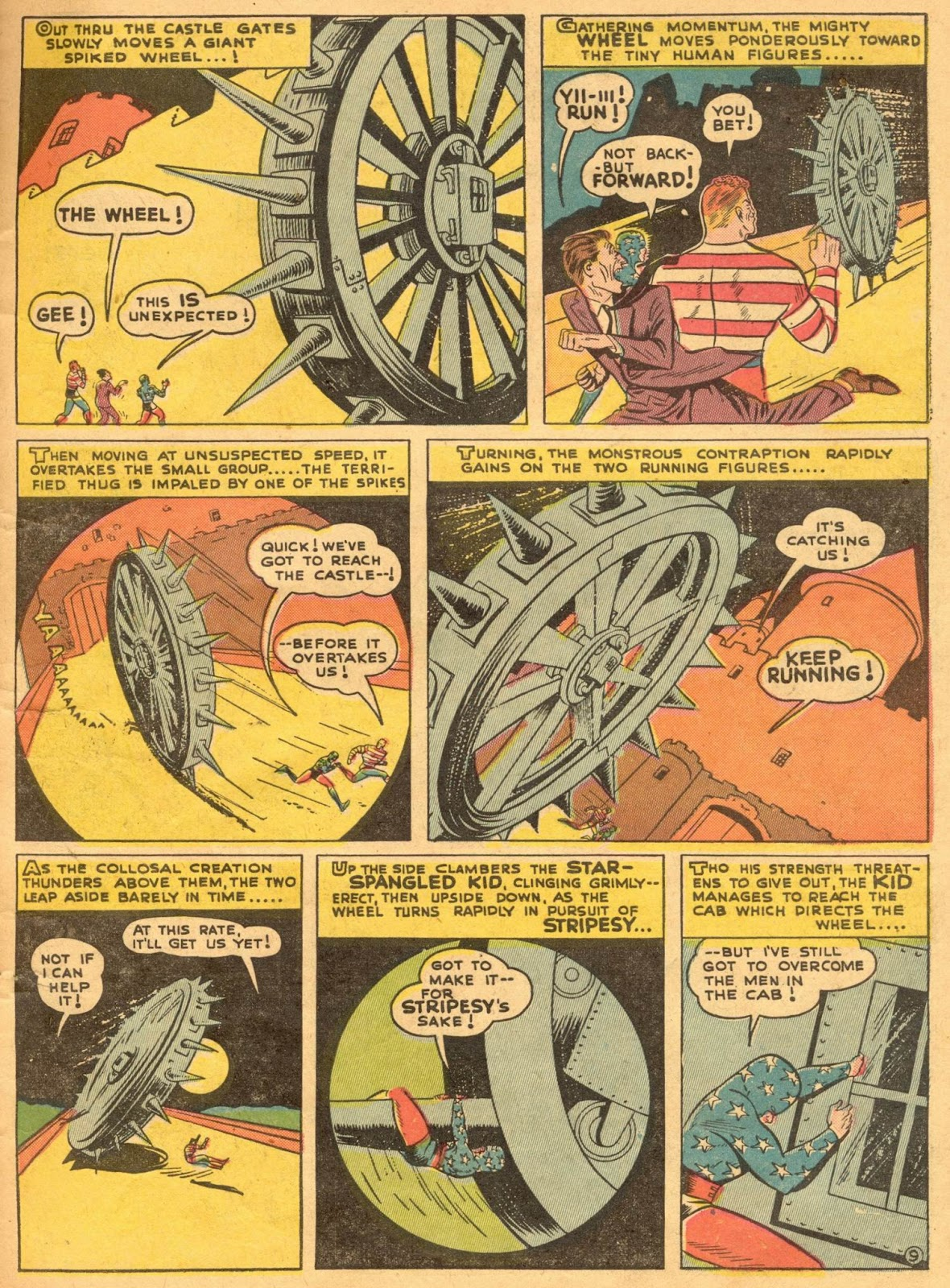Star Spangled Comics (1941) issue 1 - Page 11