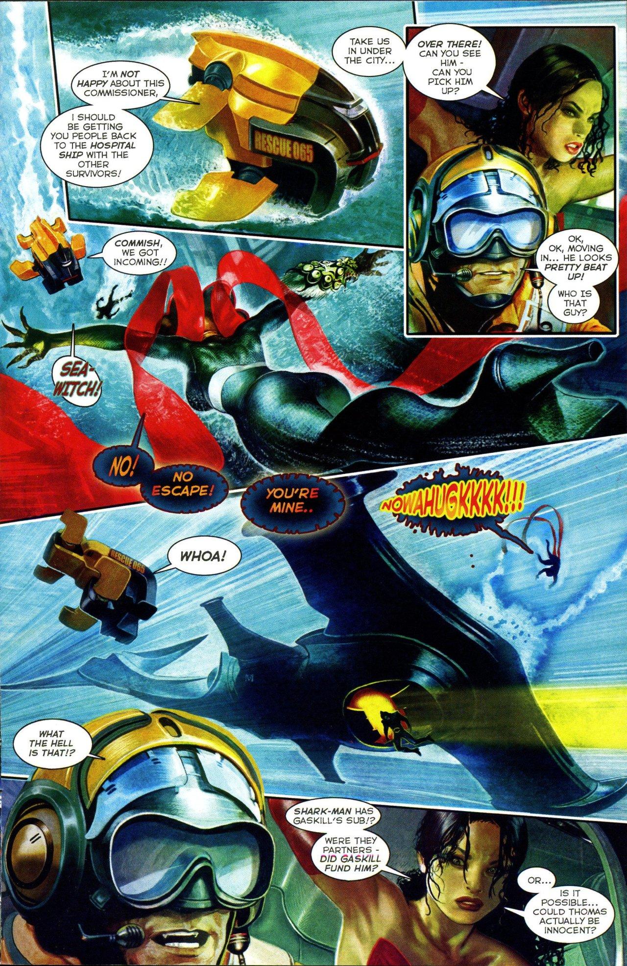 Read online Shark-Man comic -  Issue #3 - 15