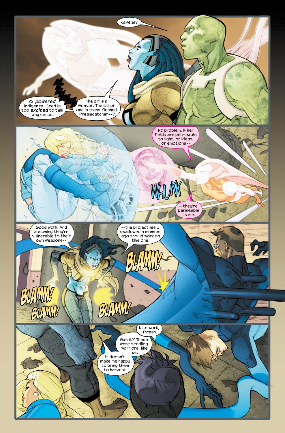Read online Ultimate Fantastic Four (2004) comic -  Issue #33 - 8