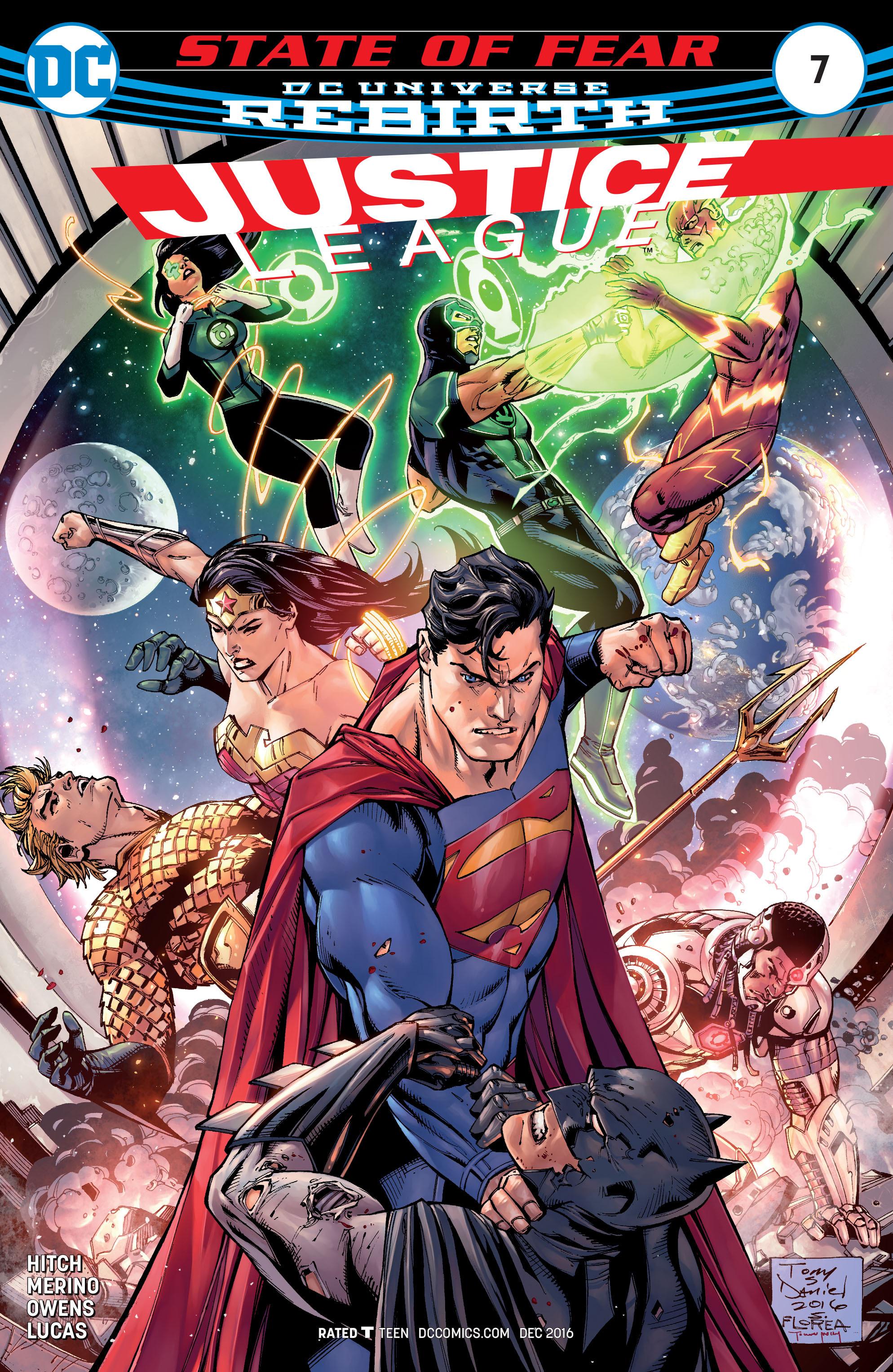 Justice League (2016) 7 Page 1