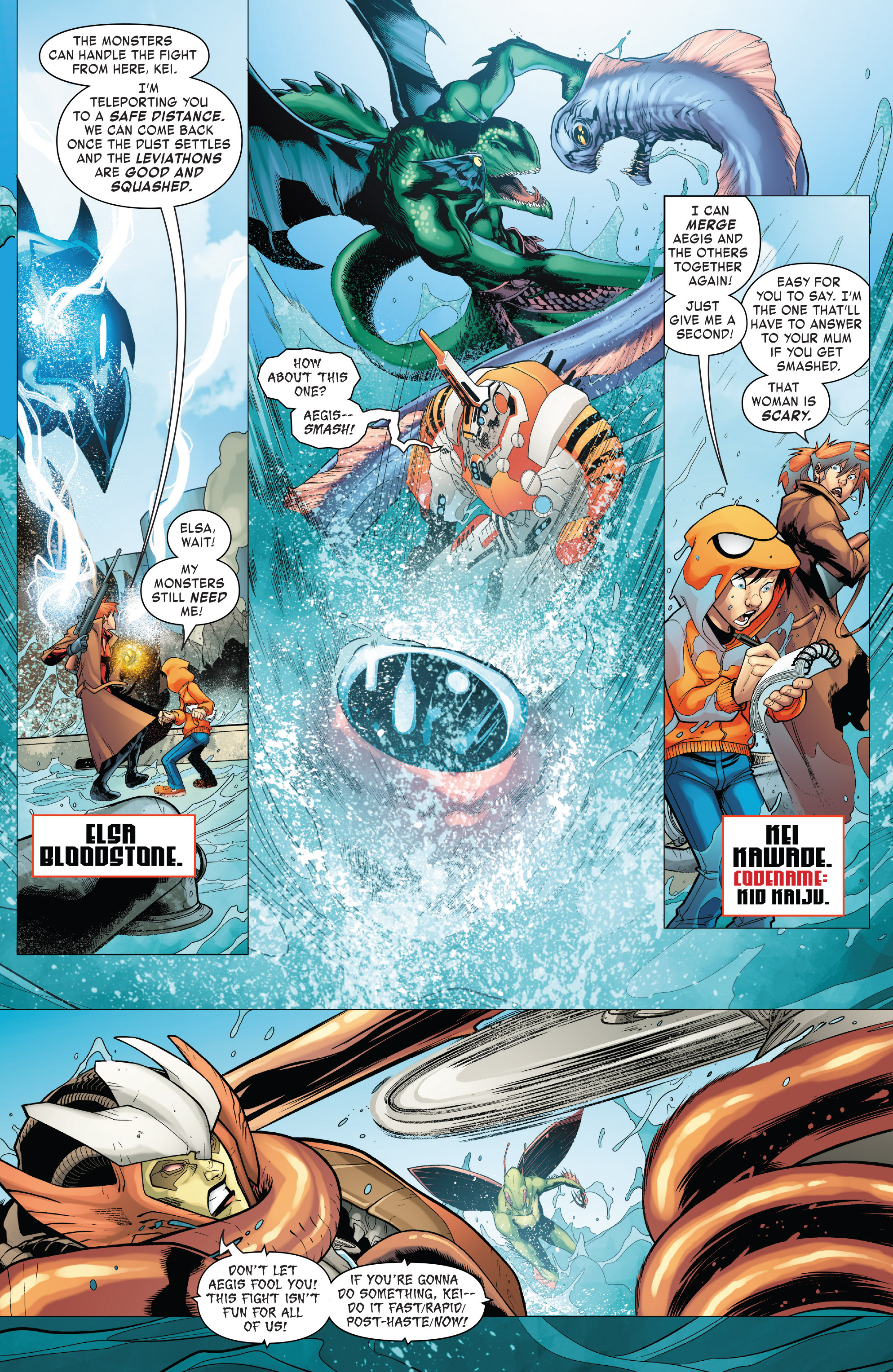 Read online Monsters Unleashed II comic -  Issue #2 - 5