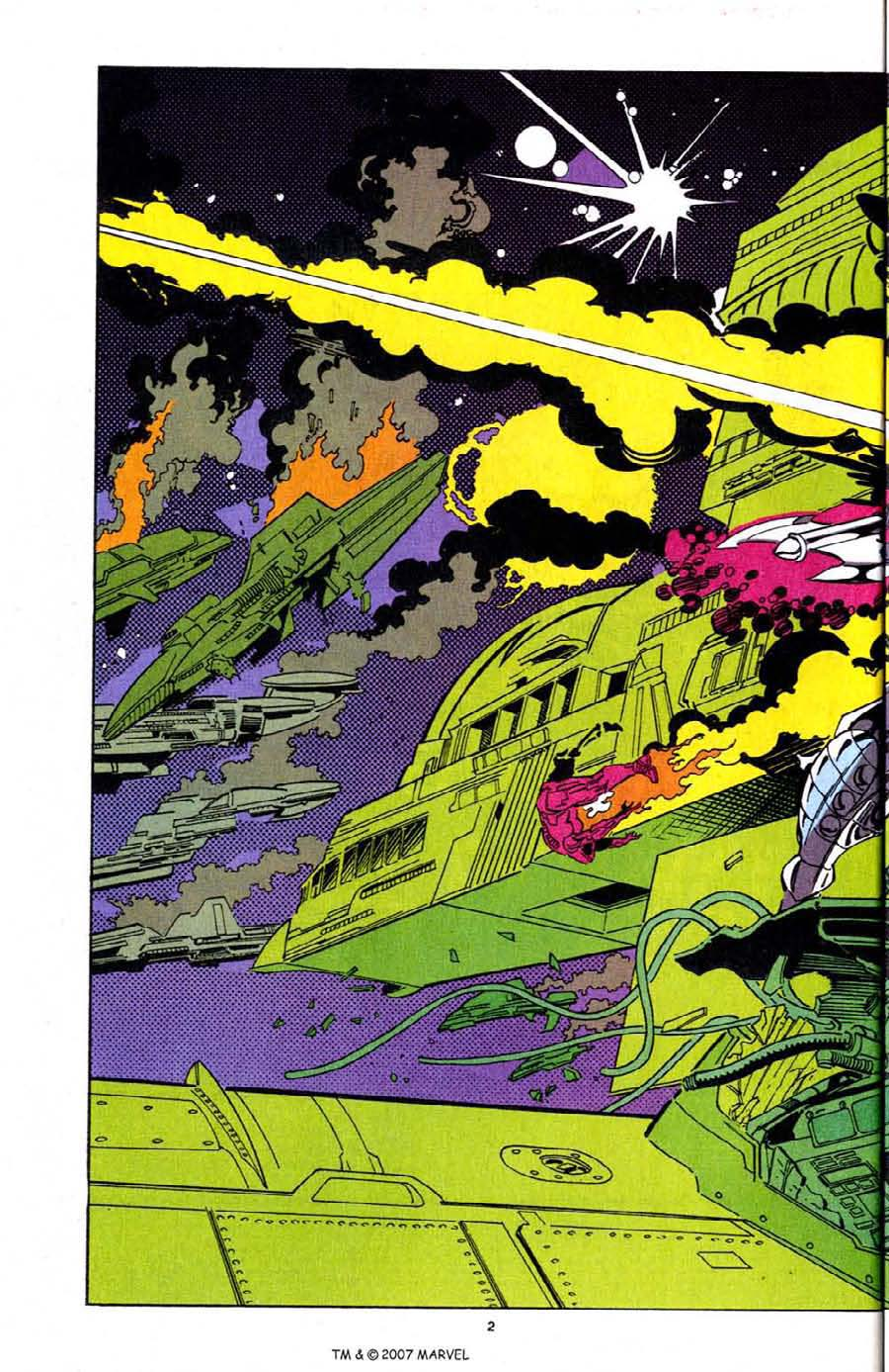 Read online Silver Surfer (1987) comic -  Issue # _Annual 7 - 4