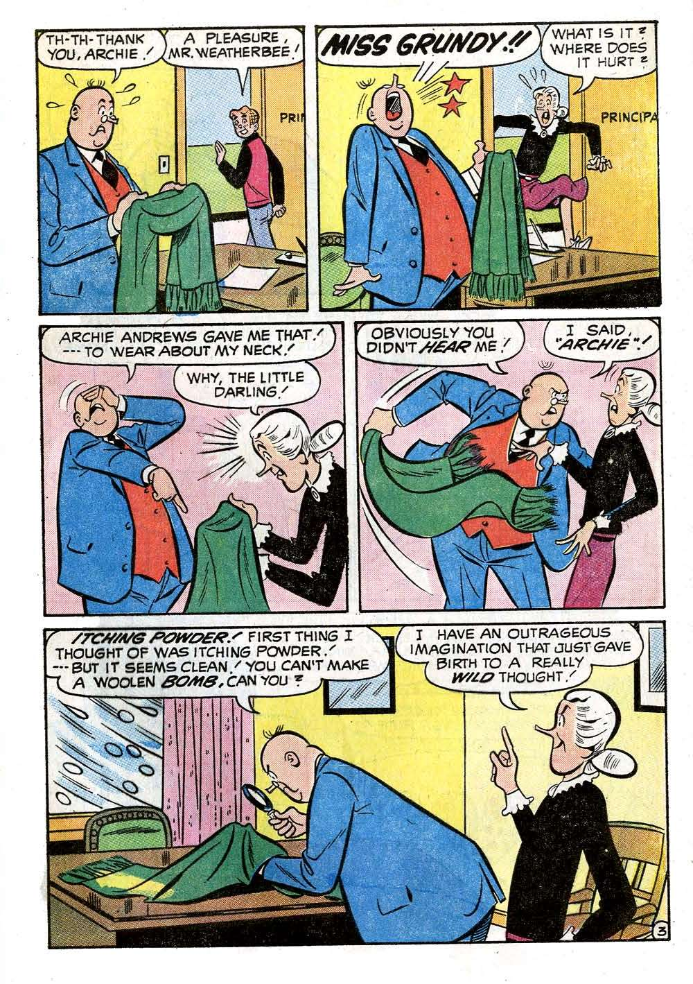 Read online Archie (1960) comic -  Issue #218 - 5