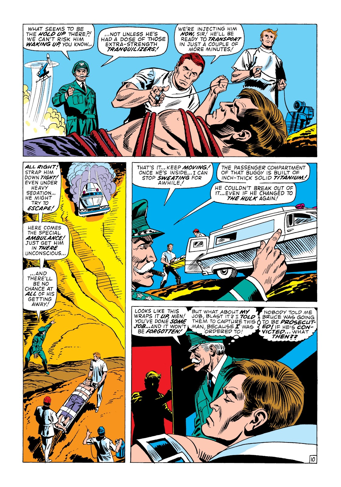 Read online Marvel Masterworks: The Incredible Hulk comic -  Issue # TPB 8 (Part 2) - 84