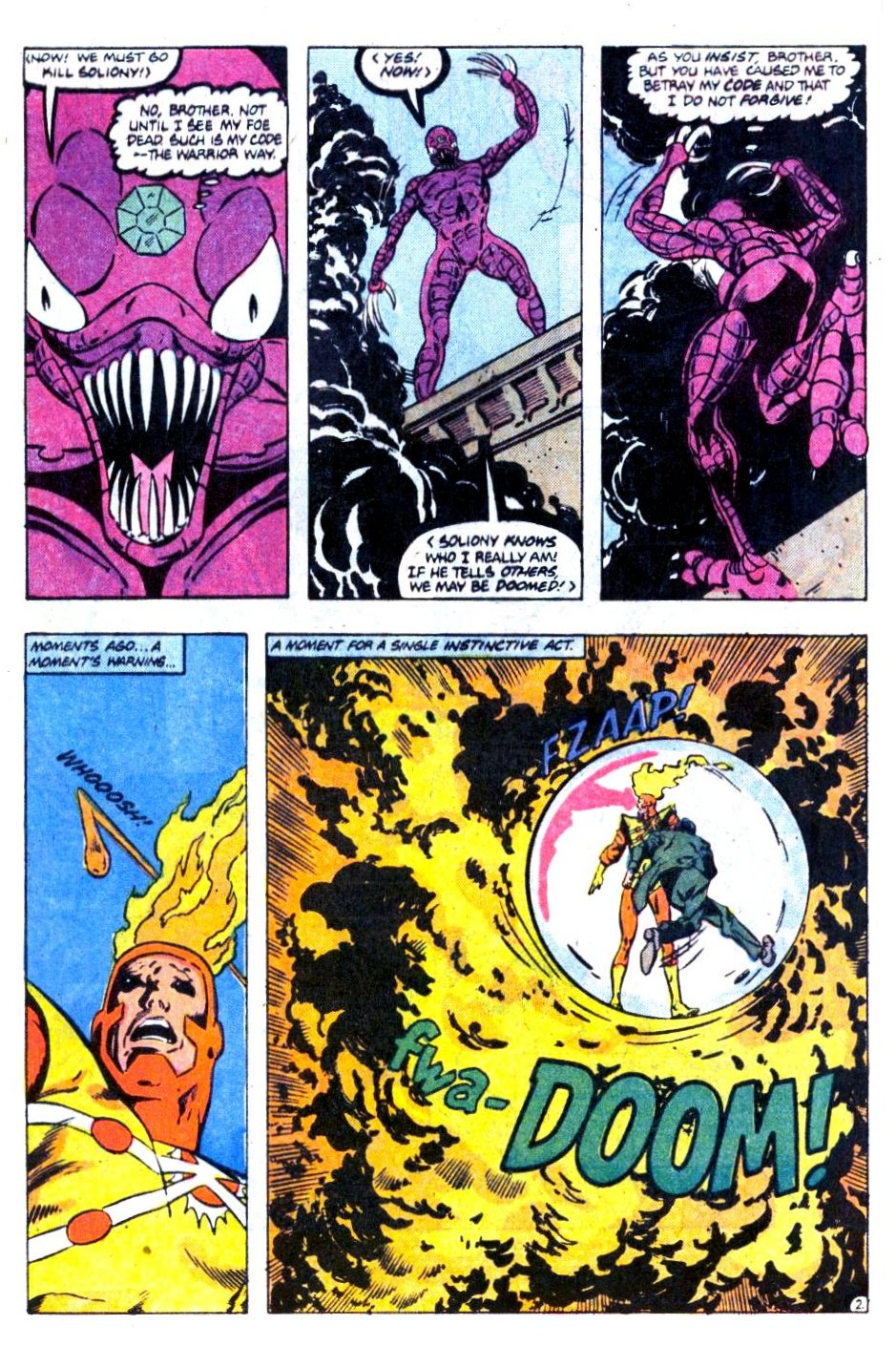 Firestorm, the Nuclear Man issue 73 - Page 3