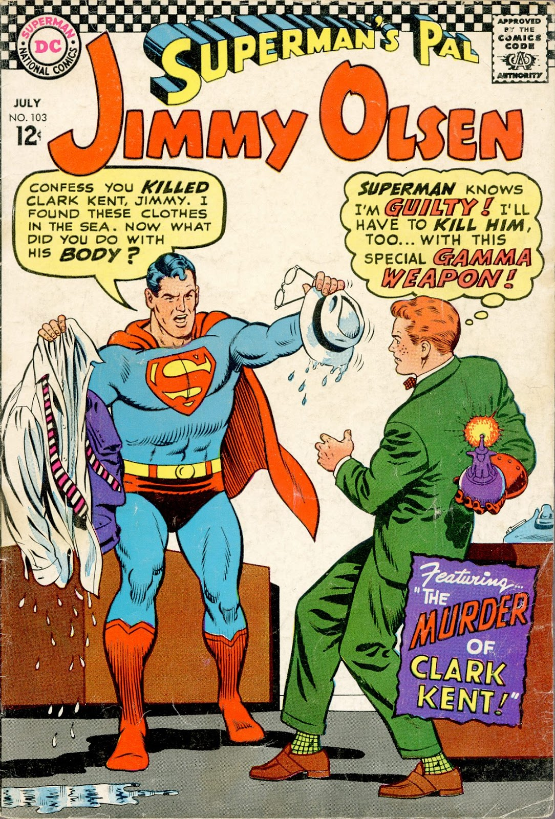 Supermans Pal Jimmy Olsen (1954) 103 Page 1