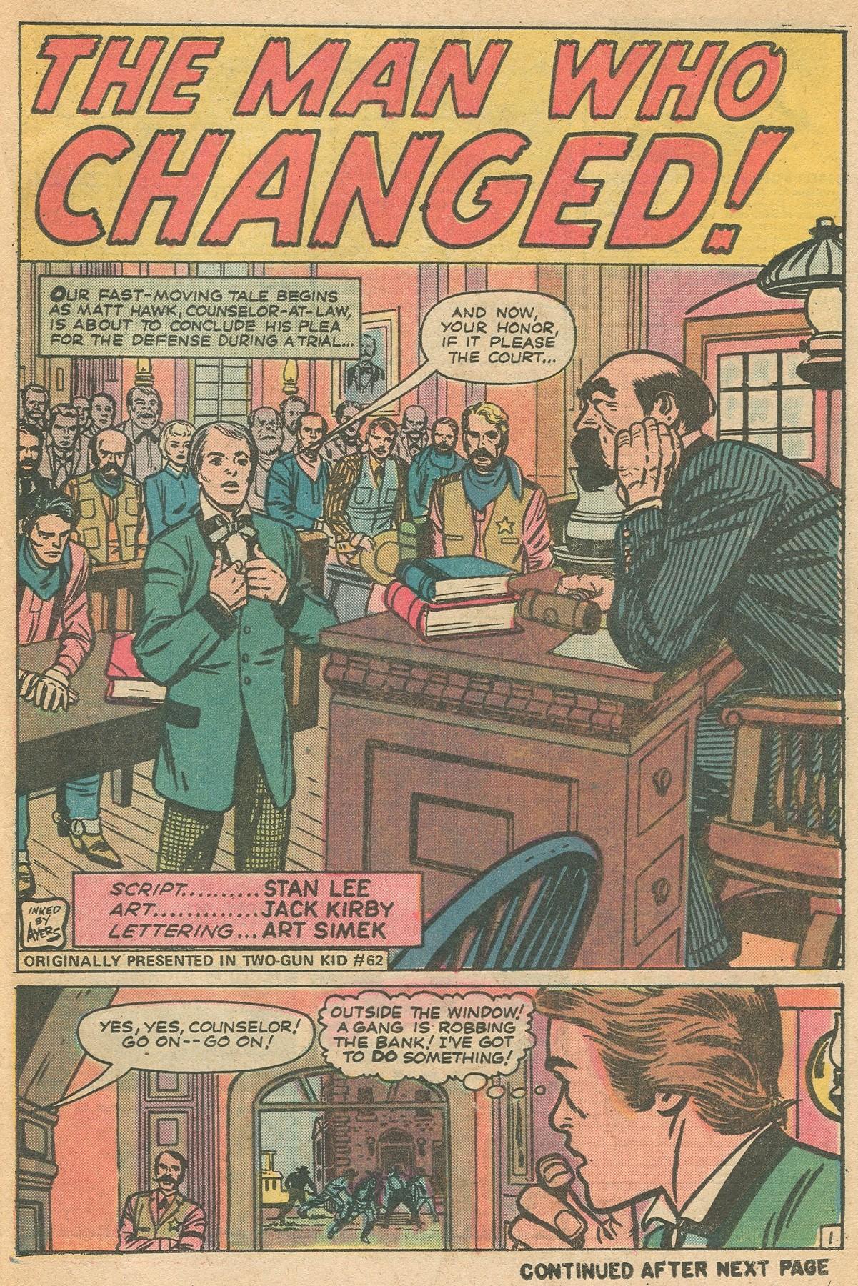 Read online Two-Gun Kid comic -  Issue #130 - 25