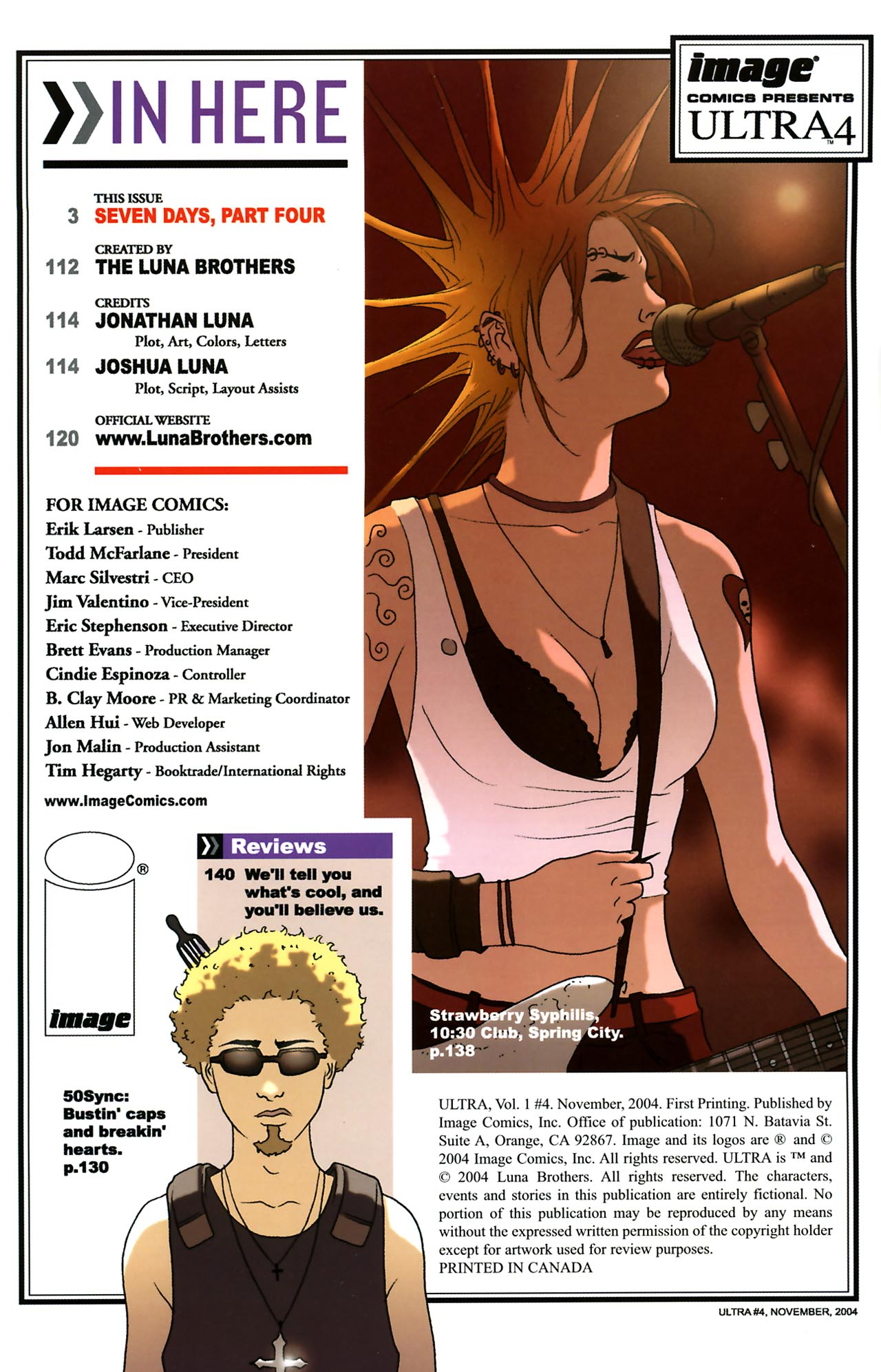 Read online Ultra comic -  Issue #4 - 2