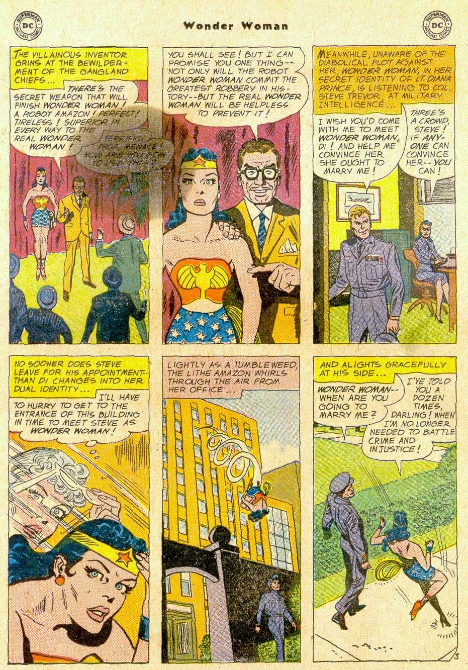 Read online Wonder Woman (1942) comic -  Issue #111 - 5