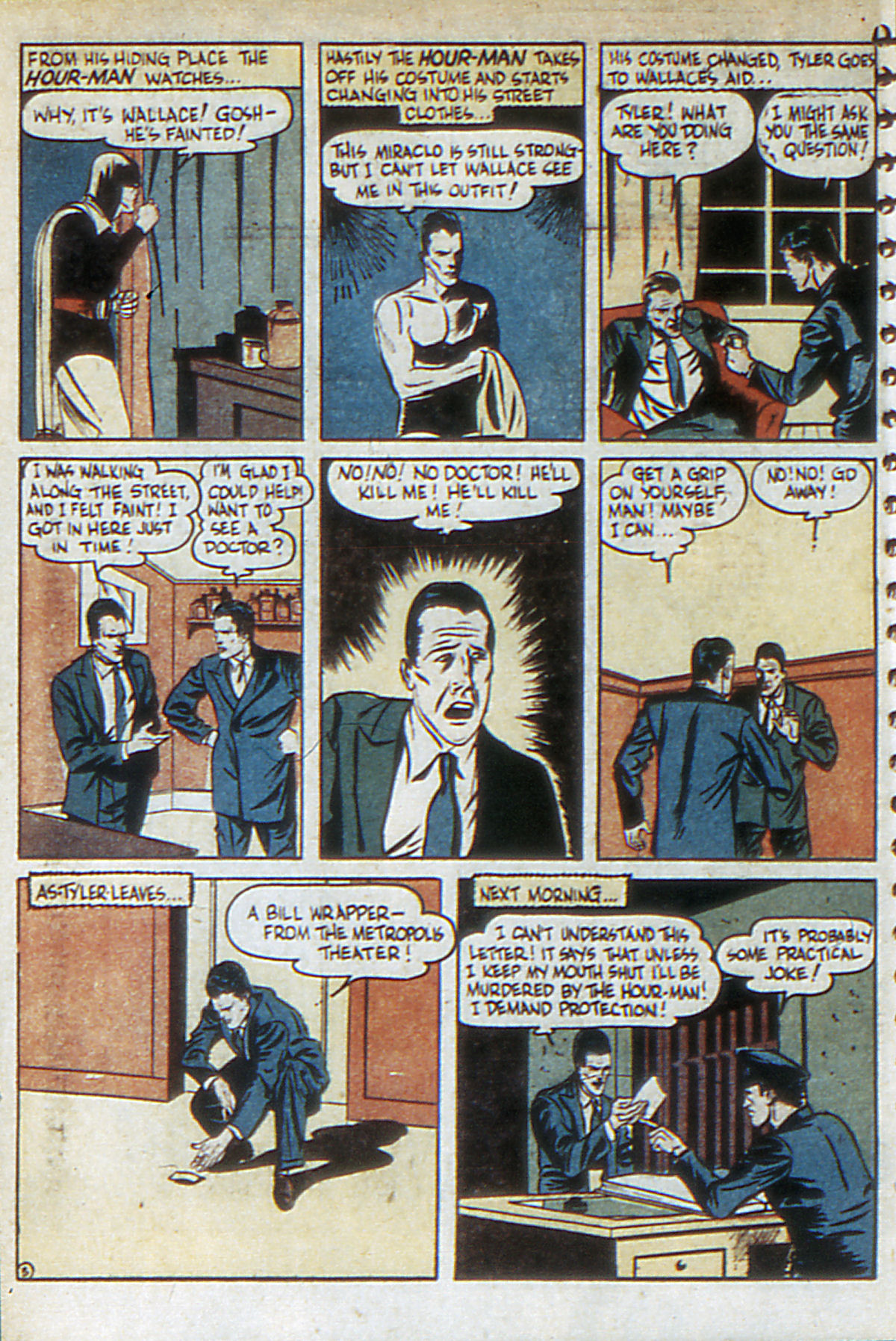 Read online Adventure Comics (1938) comic -  Issue #52 - 62