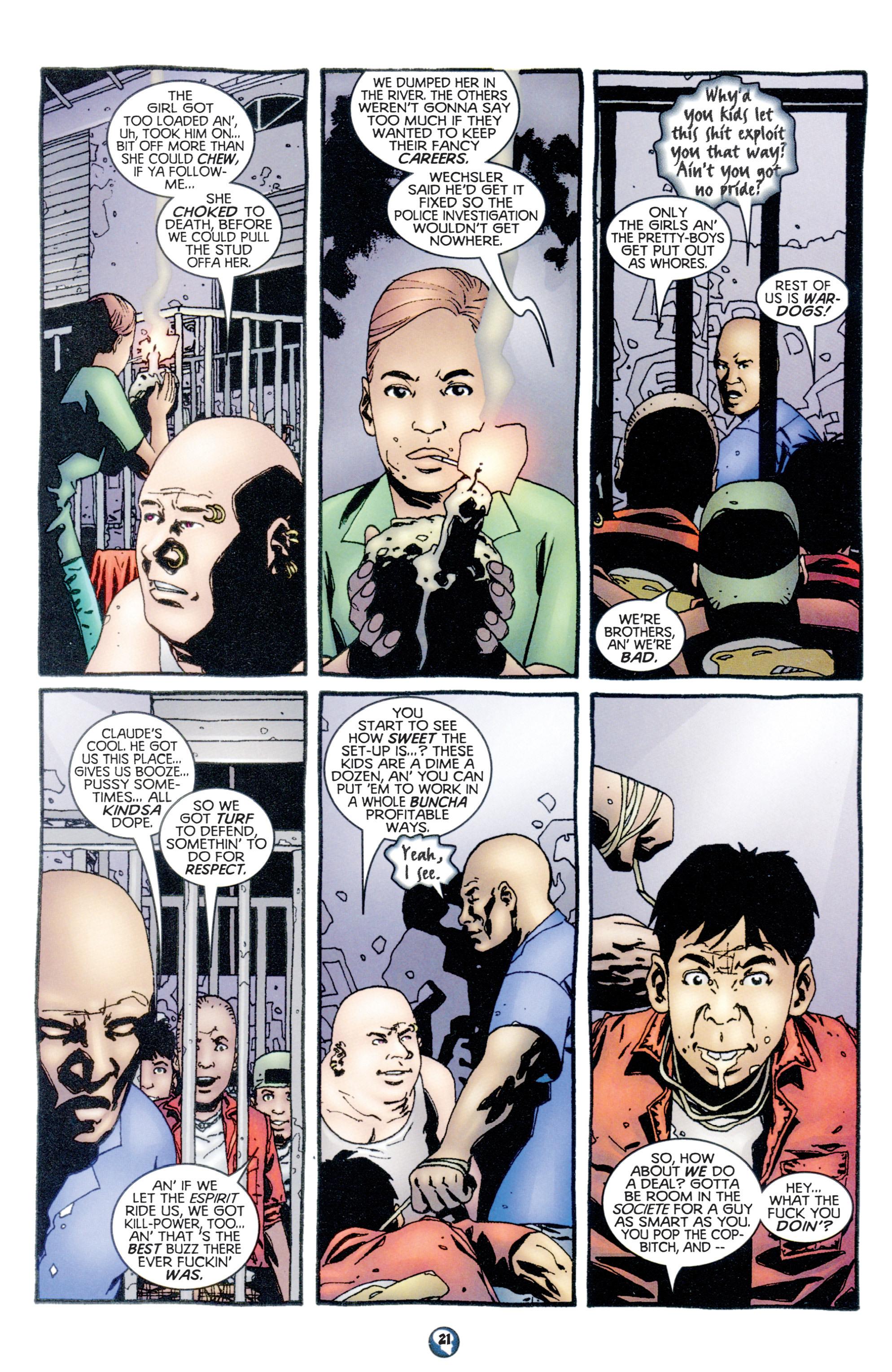 Read online Shadowman (1997) comic -  Issue #10 - 17