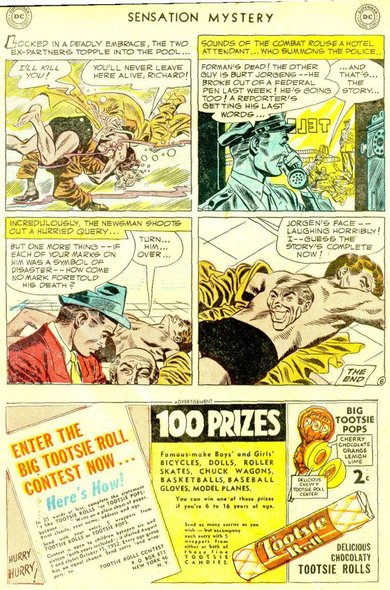 Read online Sensation (Mystery) Comics comic -  Issue #112 - 32